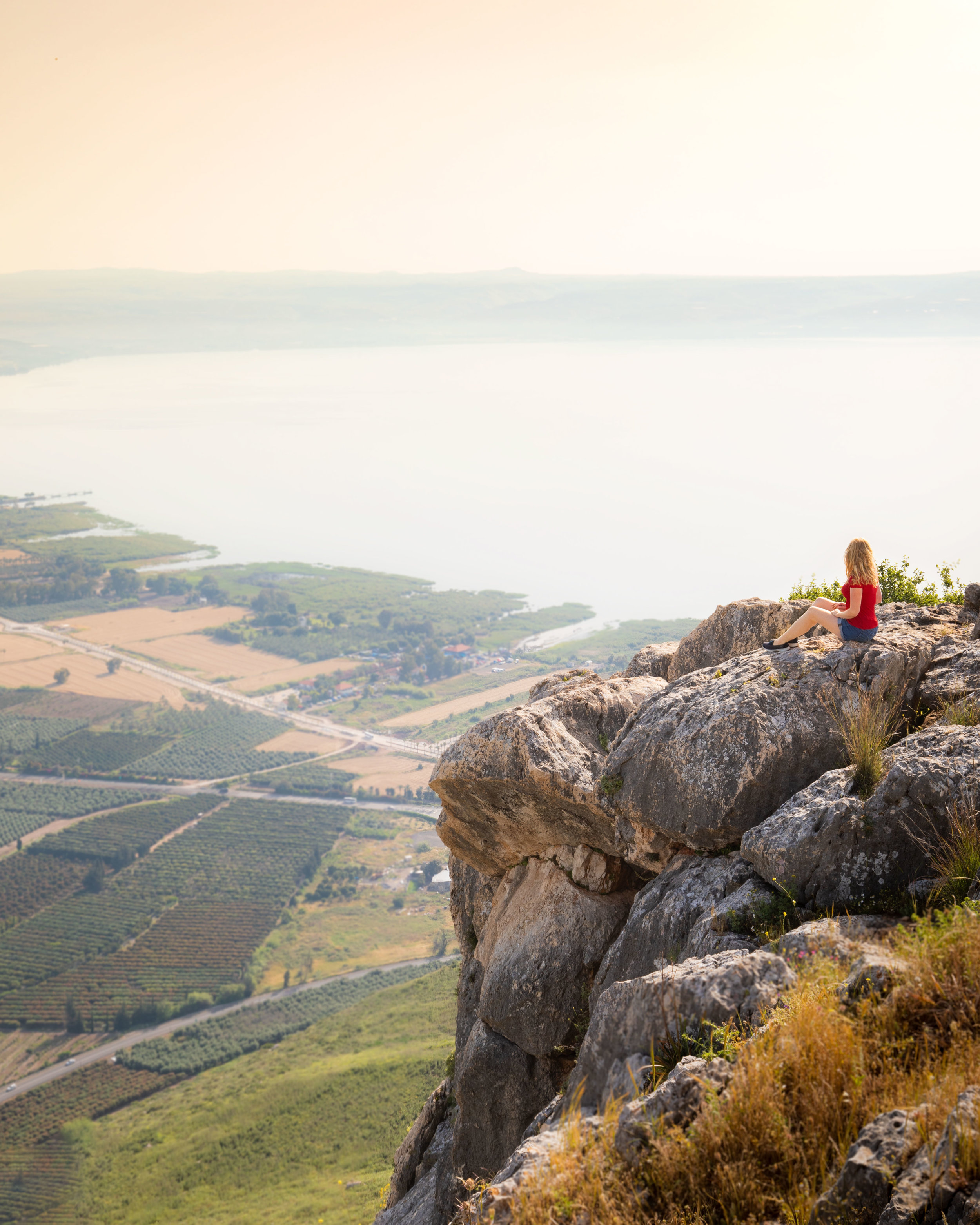 Instagrammable places in Israel - Mount Arbel