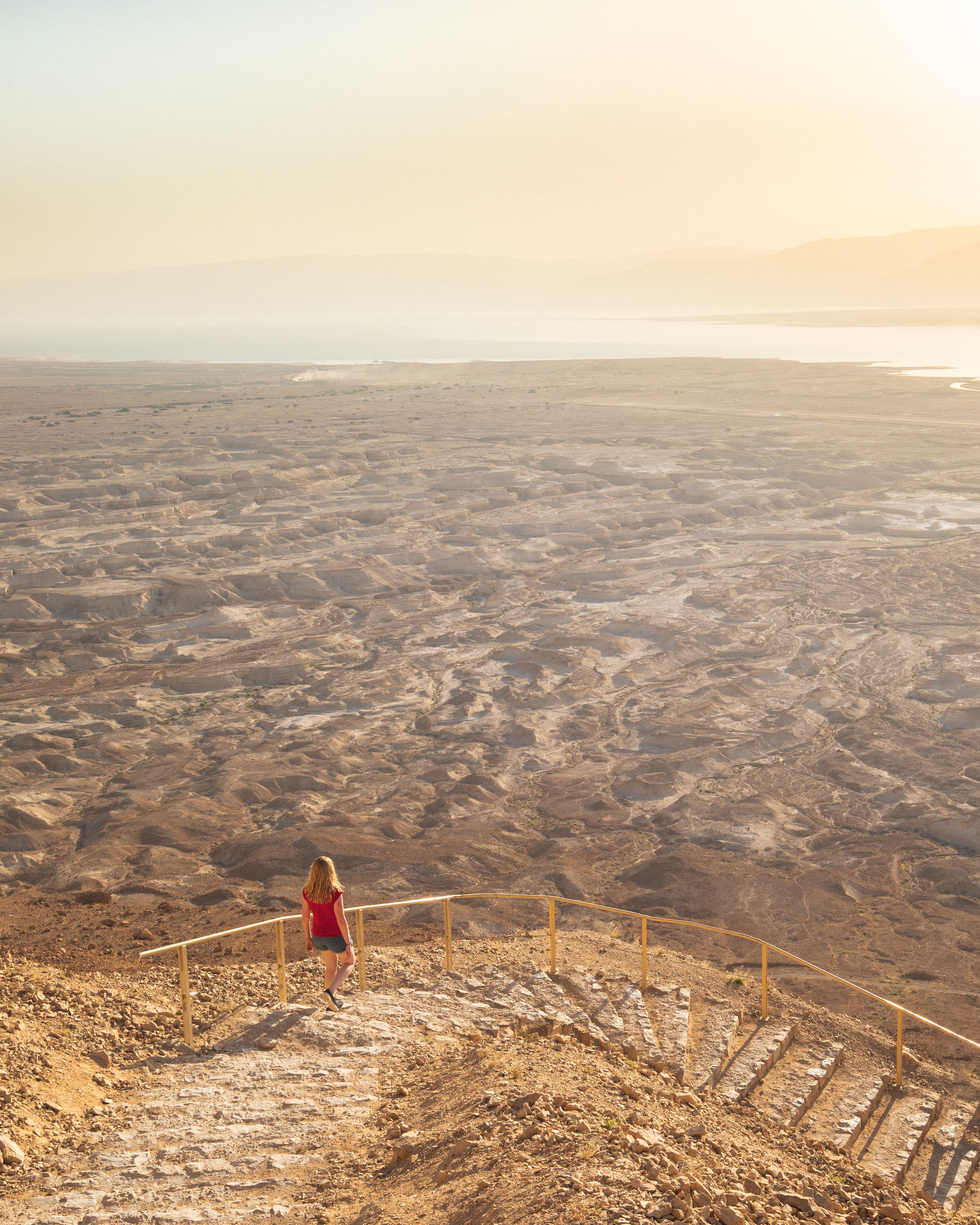 The trail to Masada