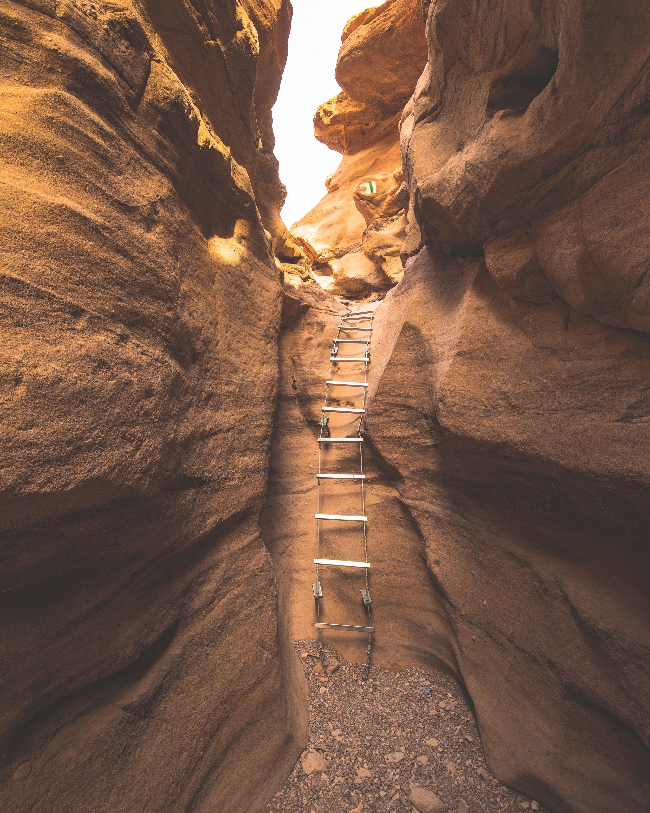 Ladders in the Red Canyon