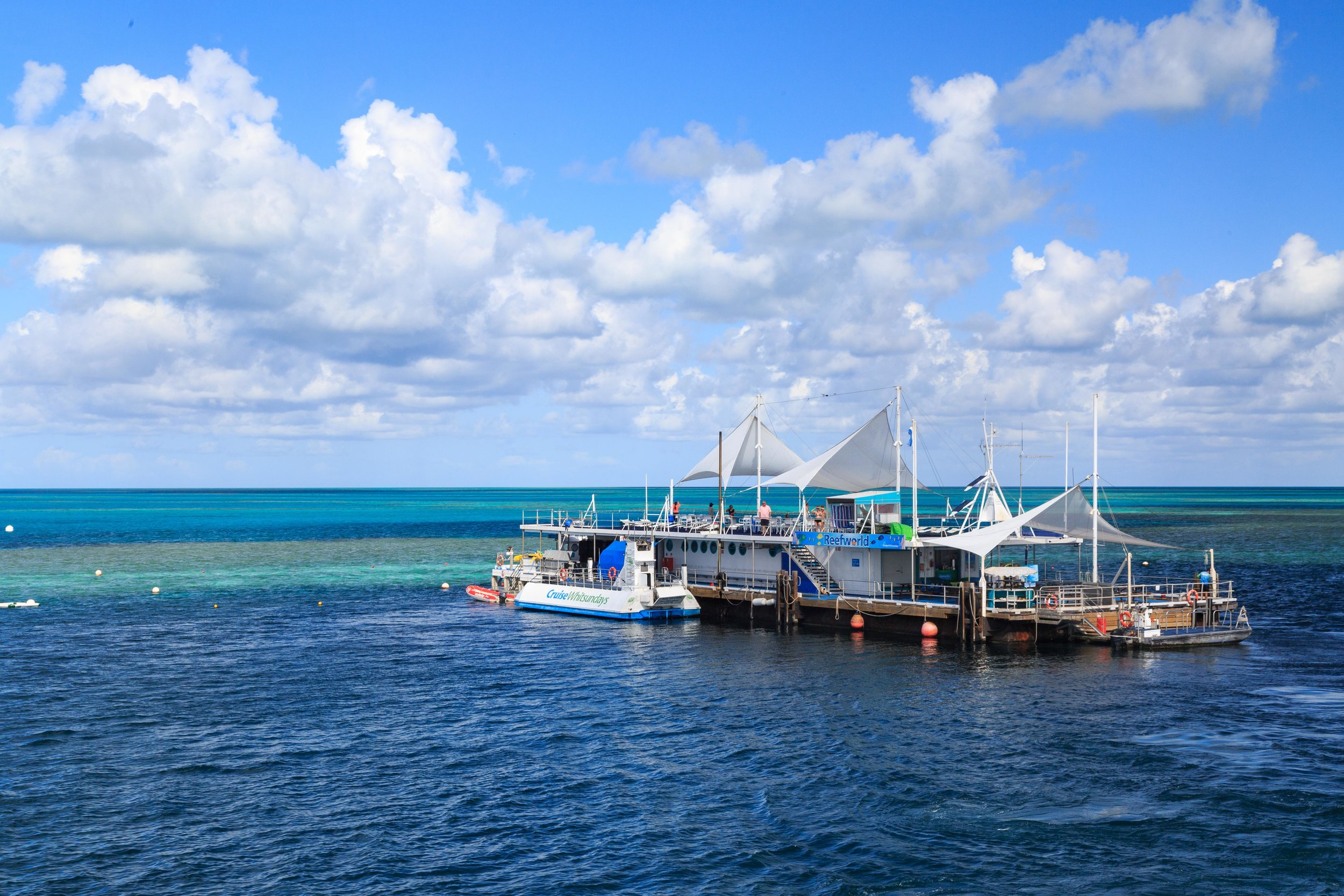 The Pontoon for Reef Sleep