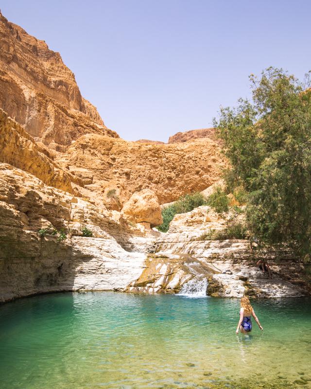 Upper Pools, Wadi Arugot