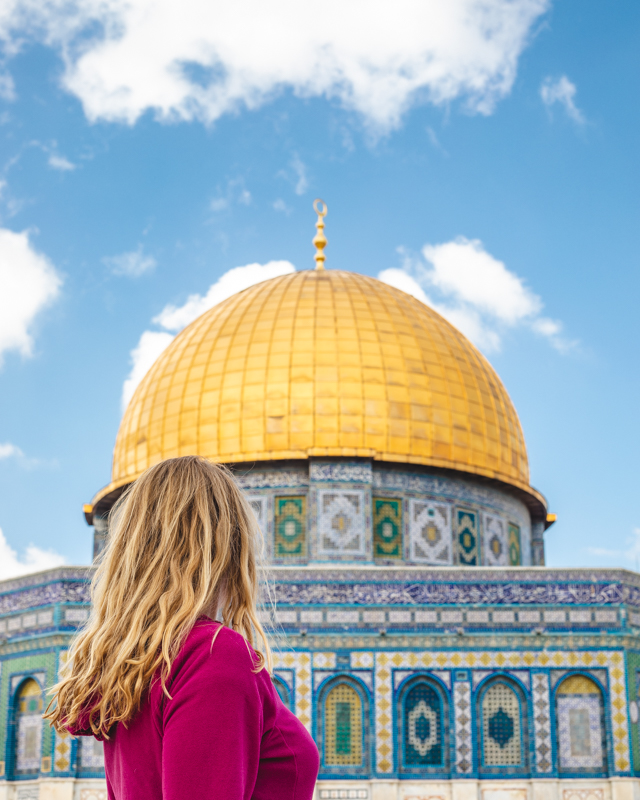Places to see in Israel - Dome of Rock