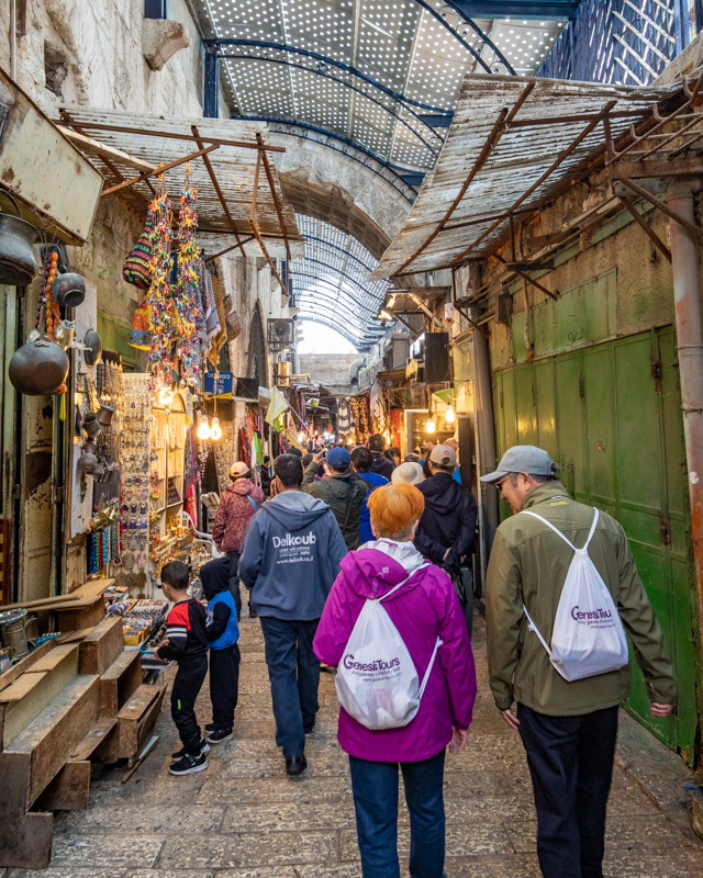 Places to visit in Israel - Wandering the streets of the Old City
