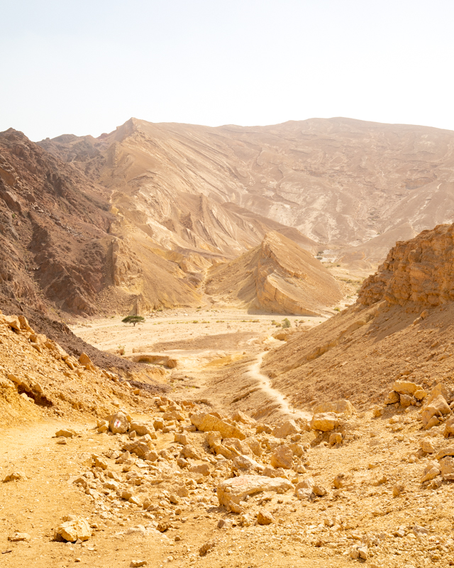 Places to see in Israel - Black Canyon
