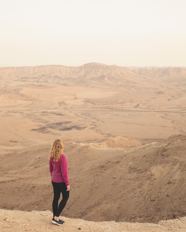 Places to visit in Israel - Mitzpe Ramon
