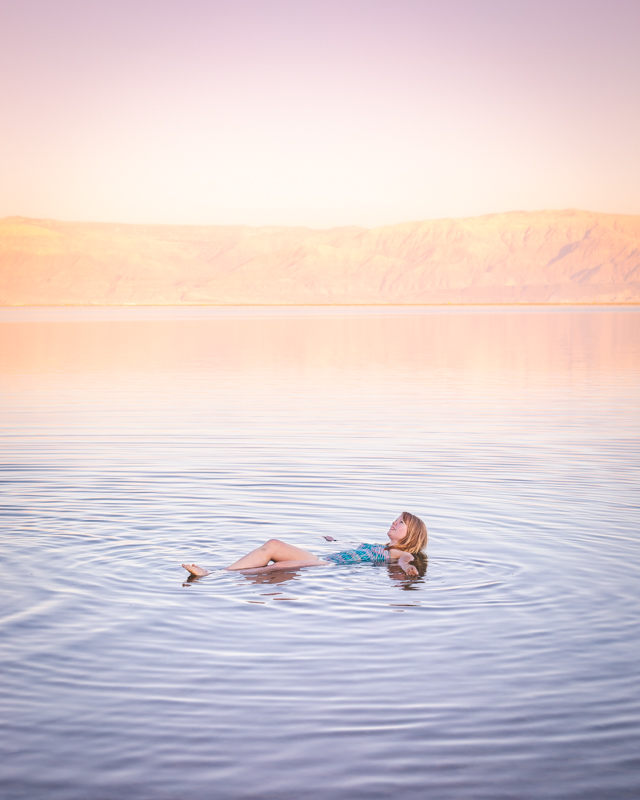 Things to do in Israel - float in the Dead Sea