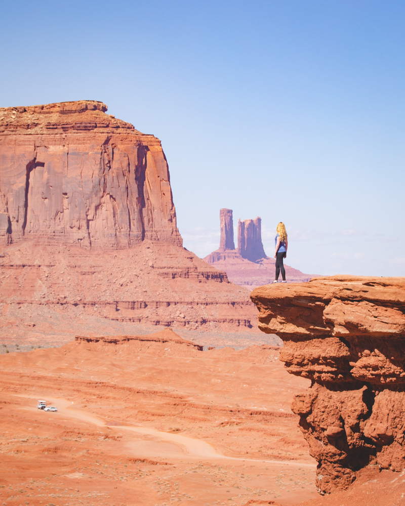 Photography spots in Monument Valley