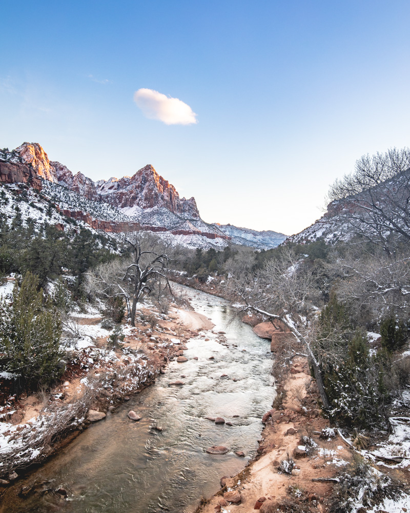 Canyon Junction - Zion National Park