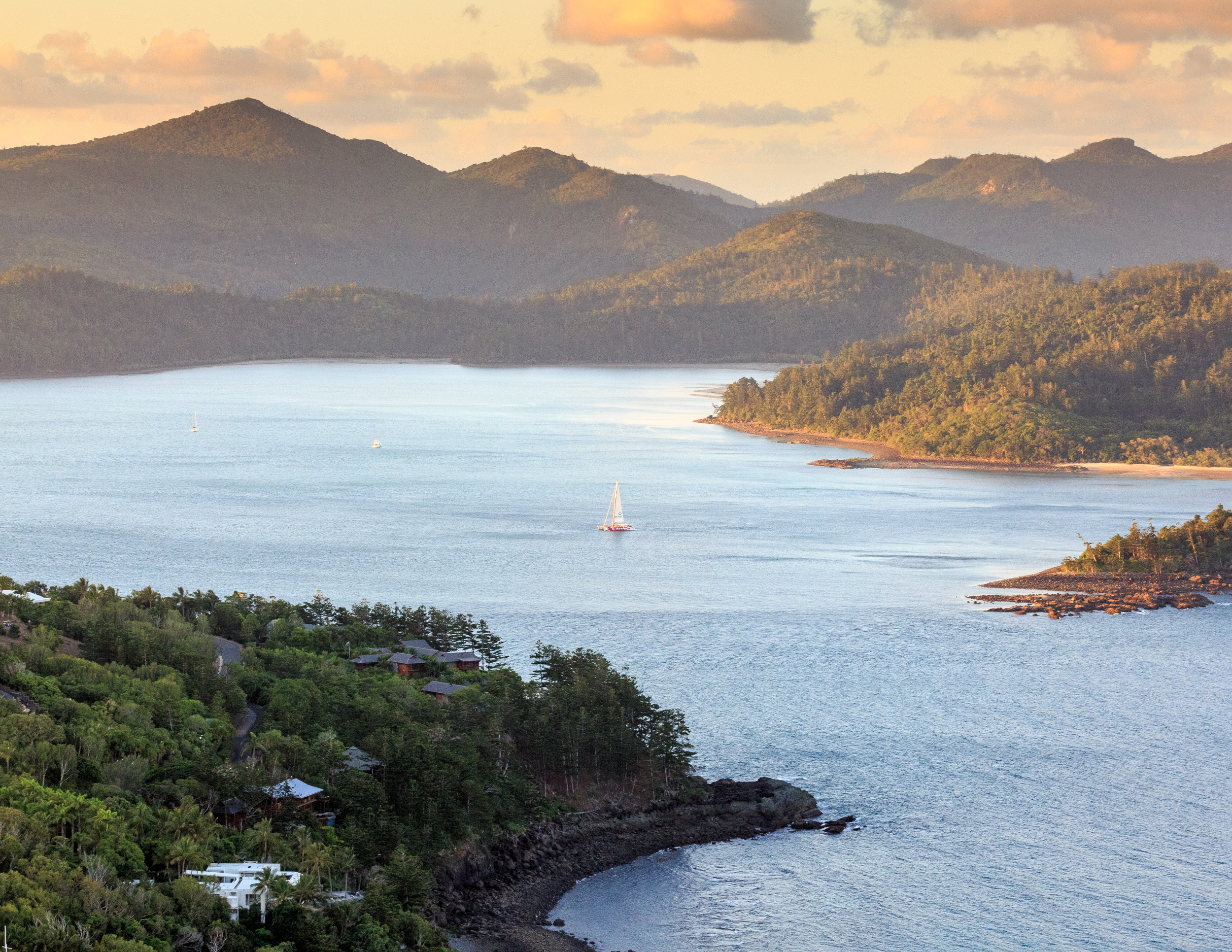 Whitsundays hotels sunset