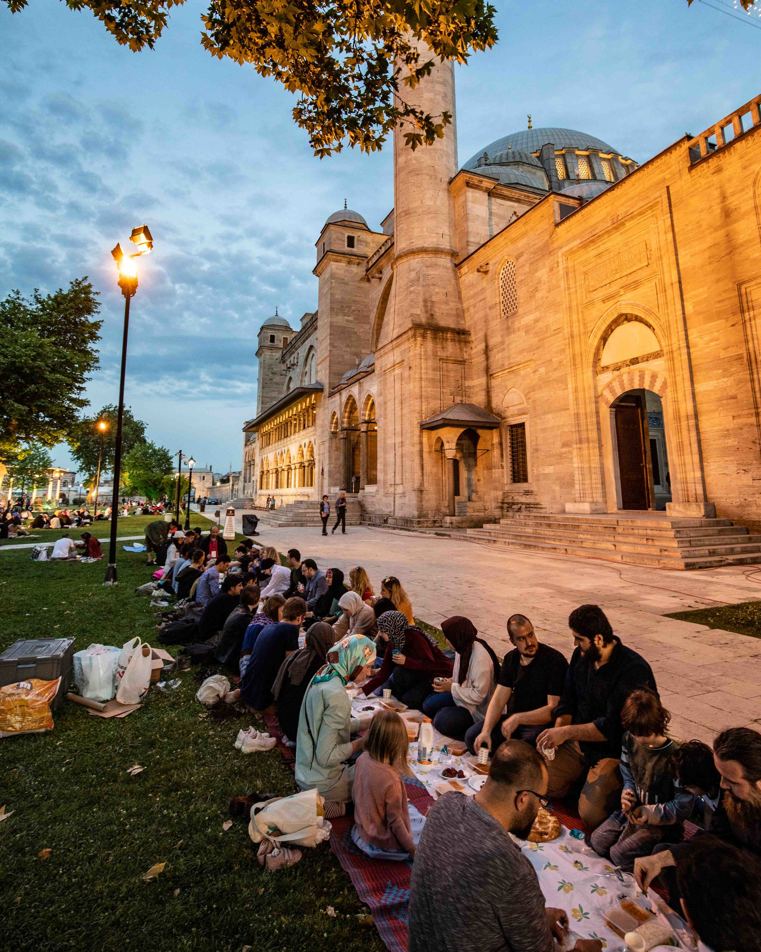 The Iftar celebration in Istanbul- a special experience