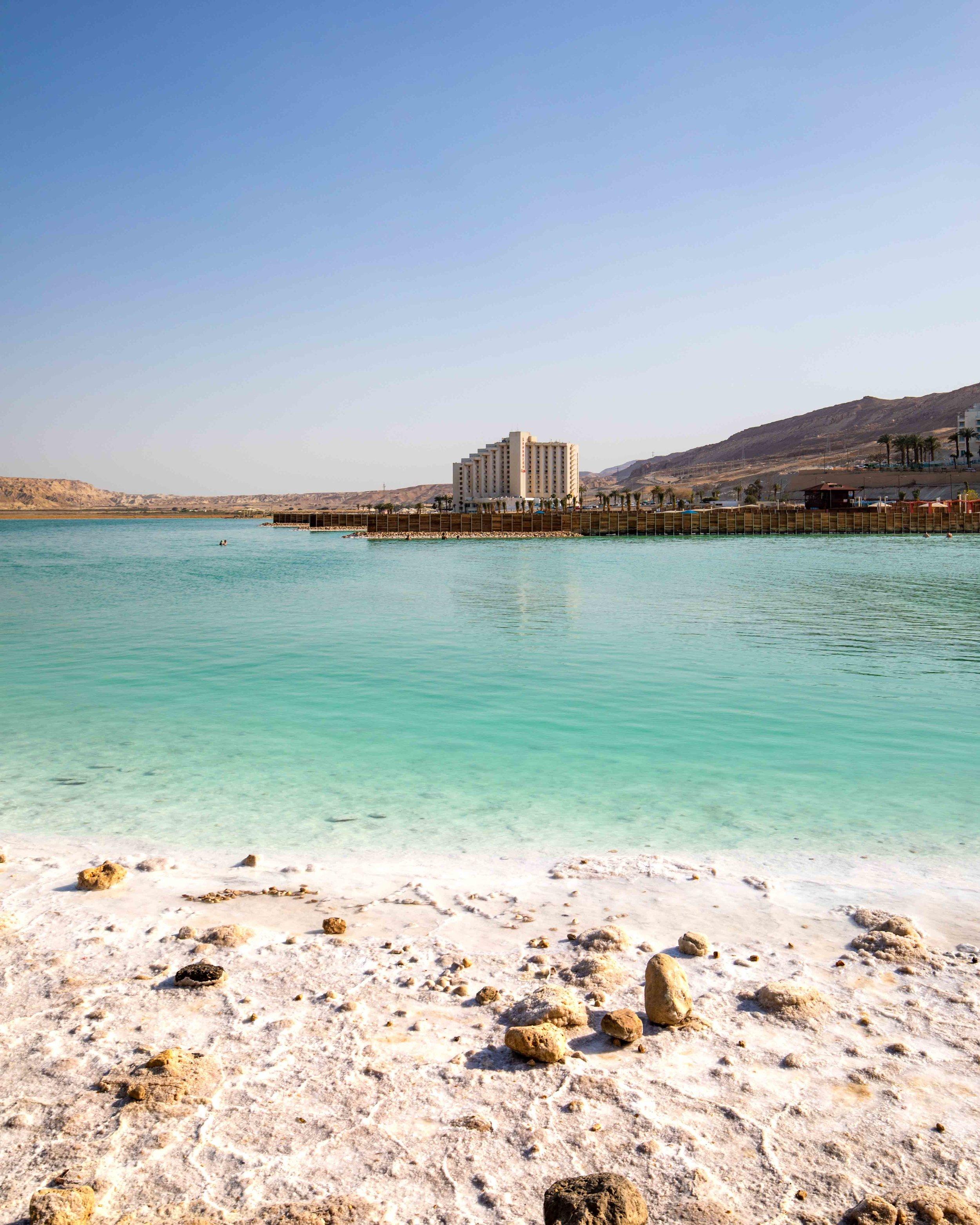 The Dead Sea at Ein Bokek