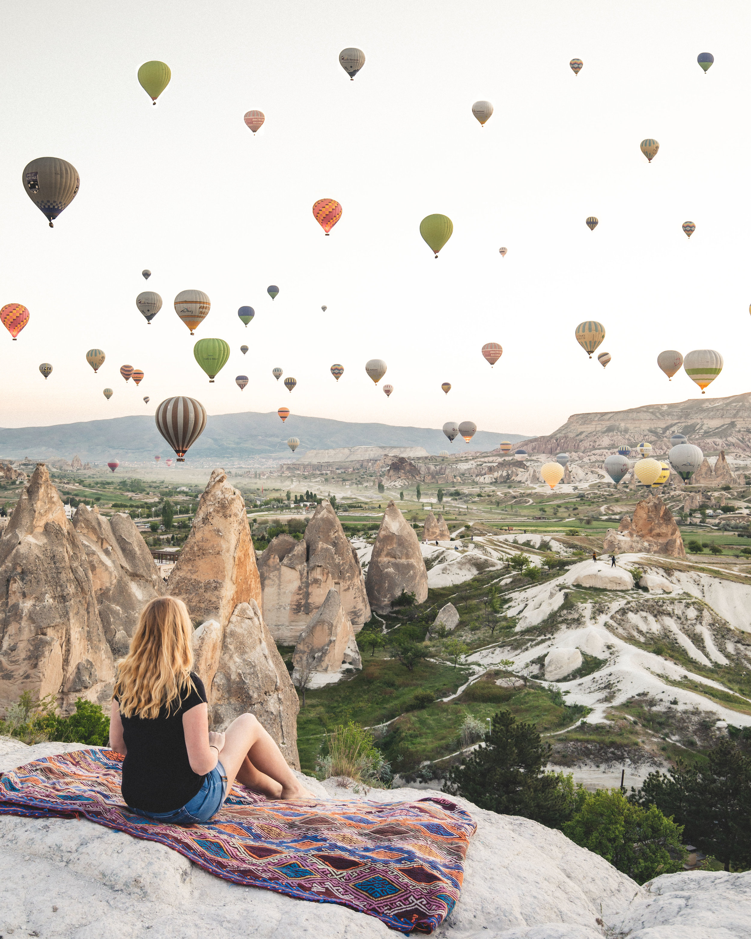 Sunrise at Sunset hill - best things to do in Cappadocia