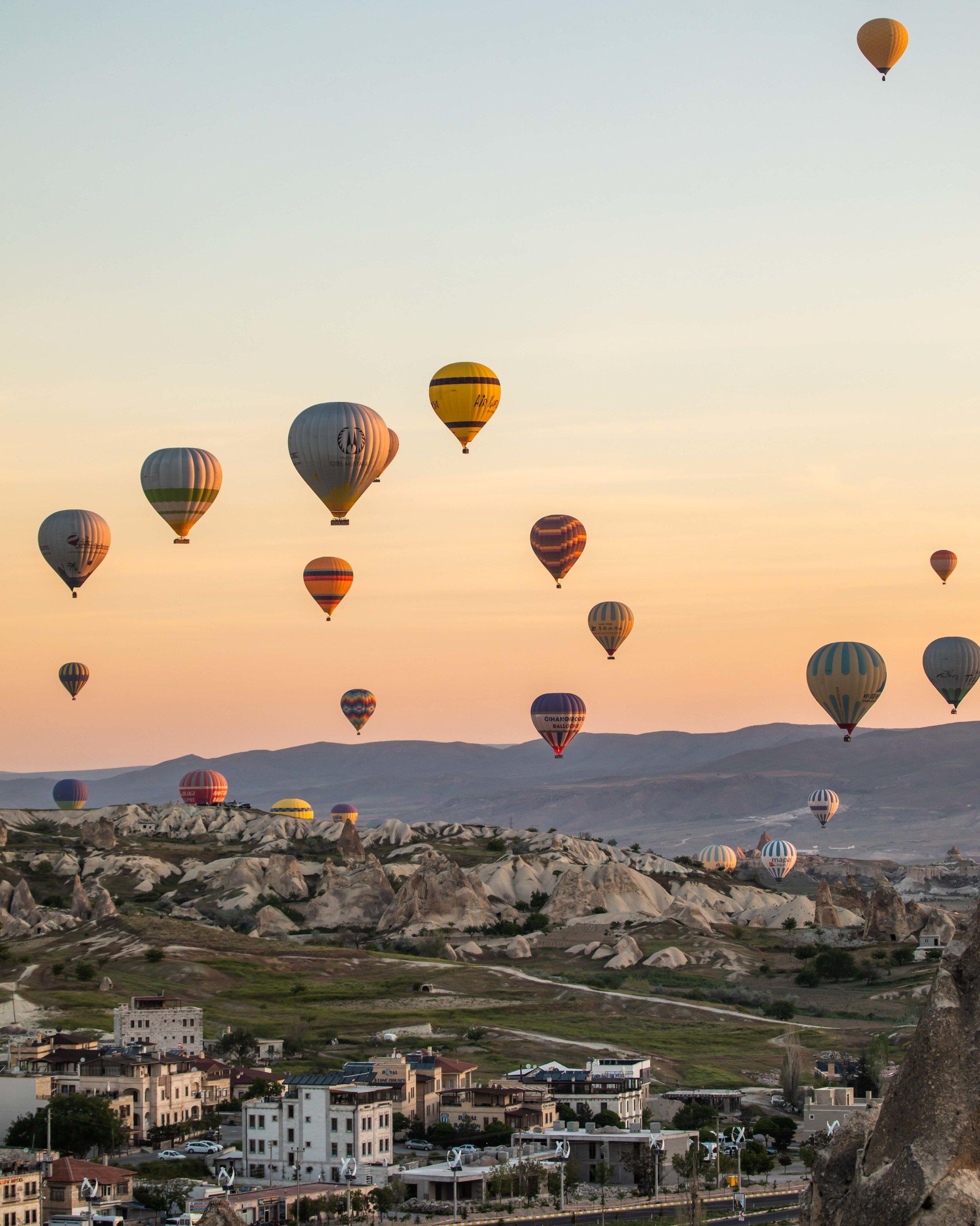 Take a balloon ride - things to do in Cappadocia