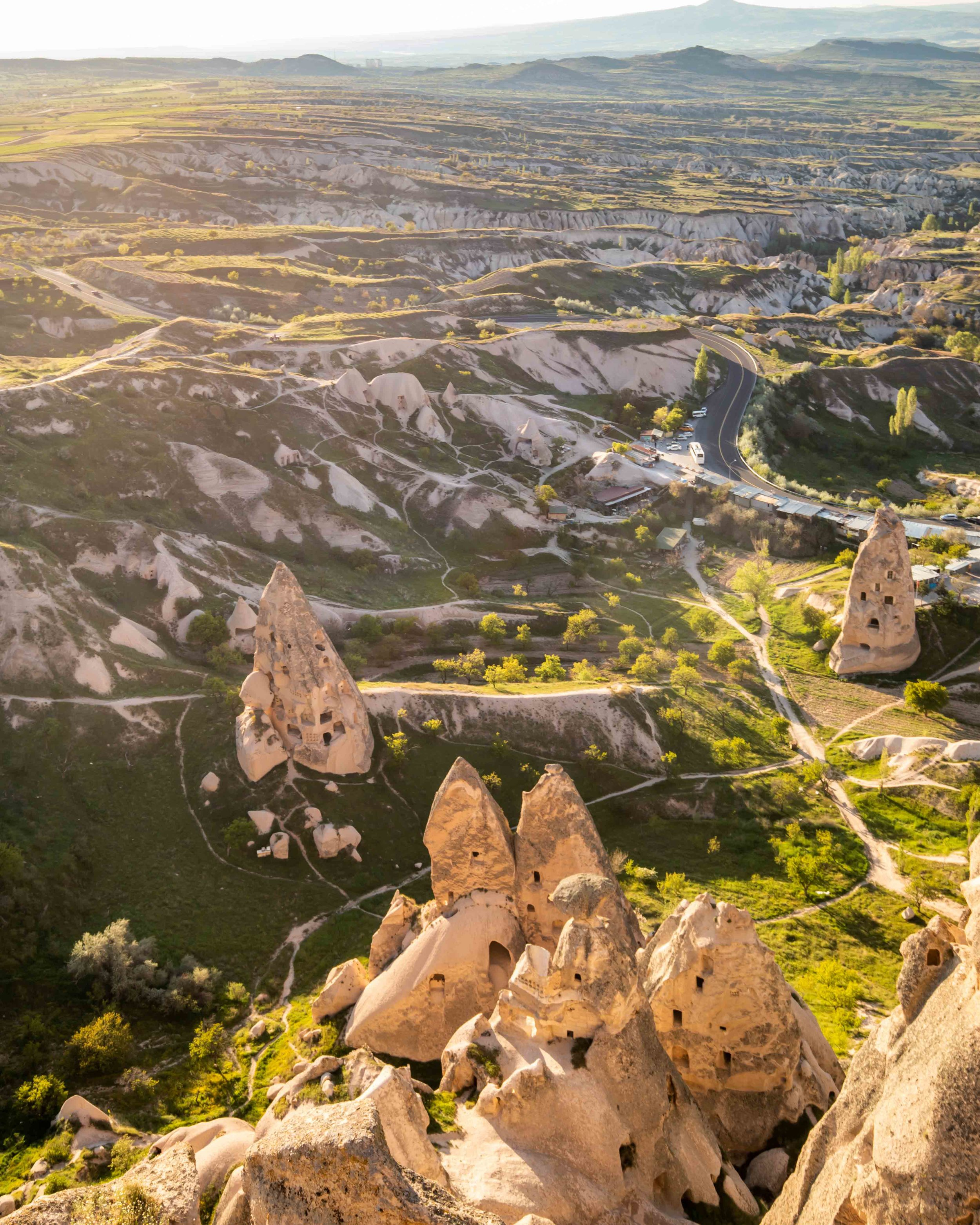 Uchisar Castle - Places to visit in Cappadocia
