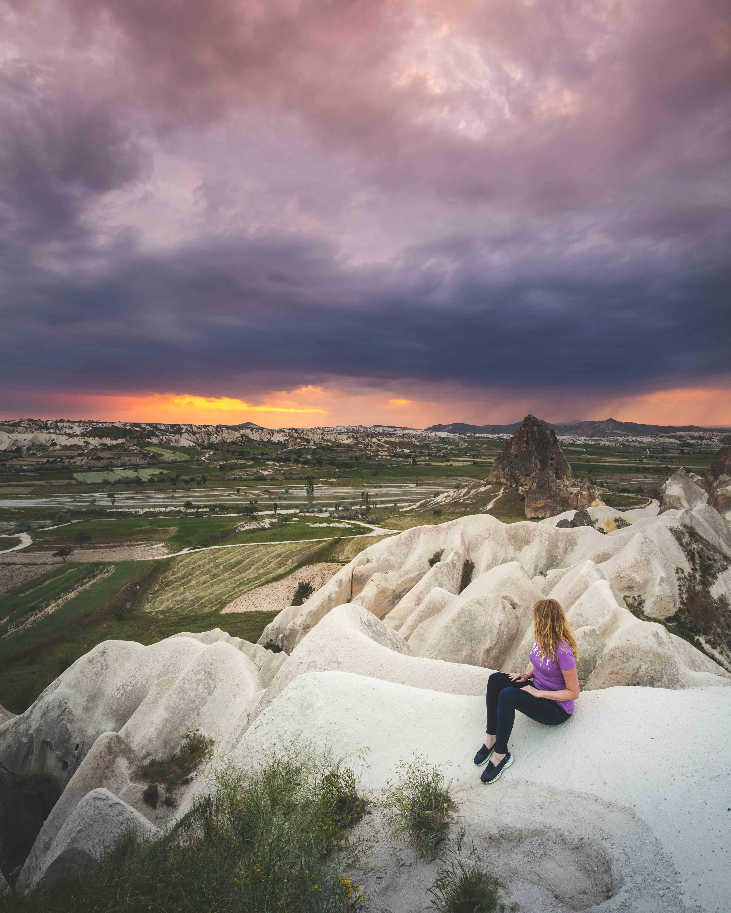 Best places for sunset in Cappadocia