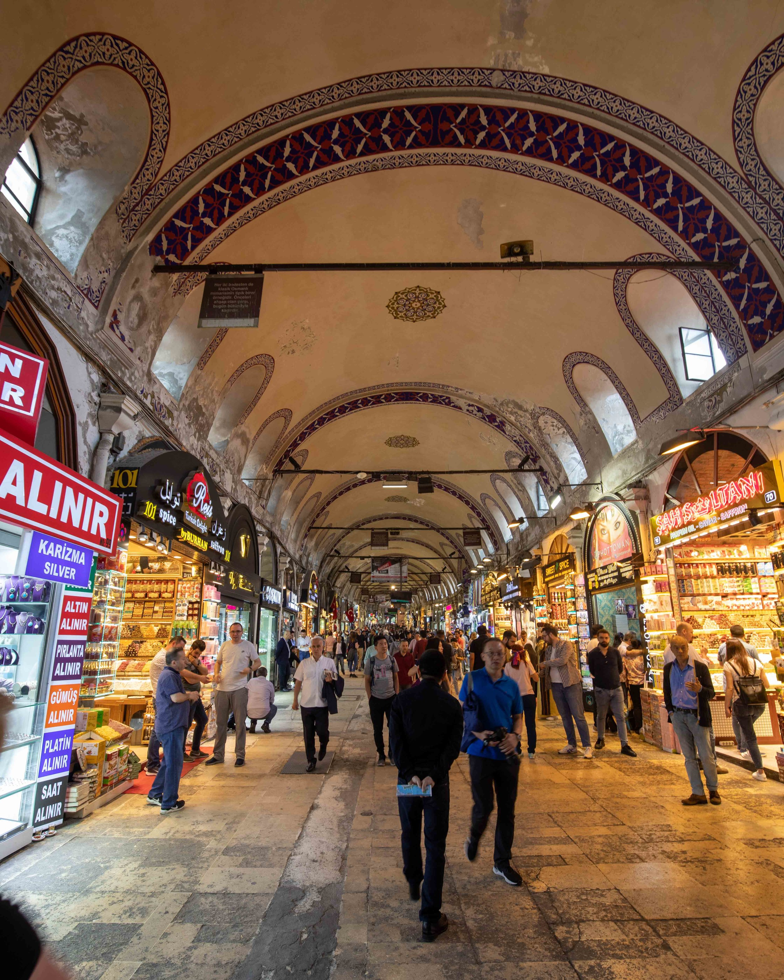 Top places to visit in Istanbul - Grand Bazaar