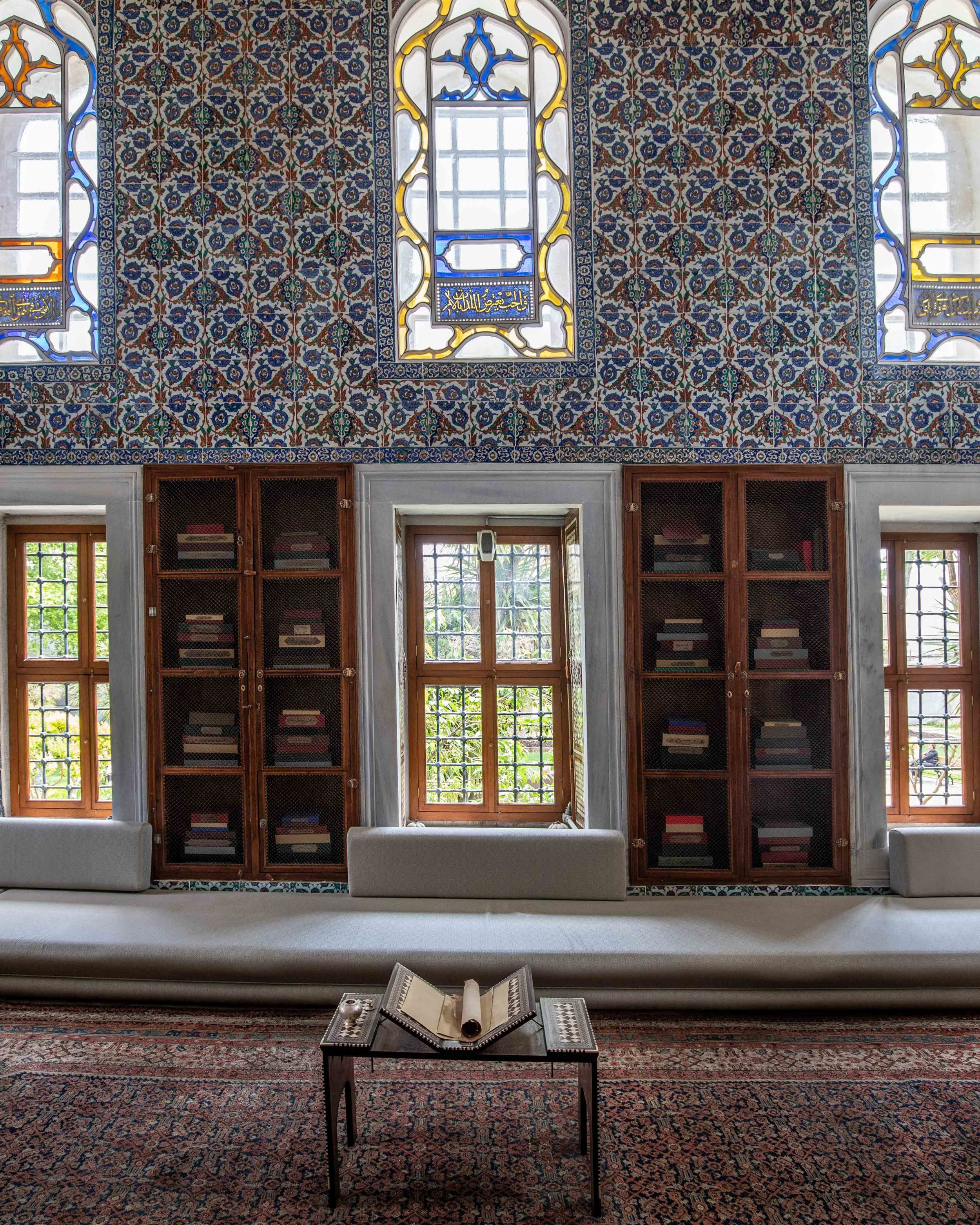 The Library at Topkapi Palace