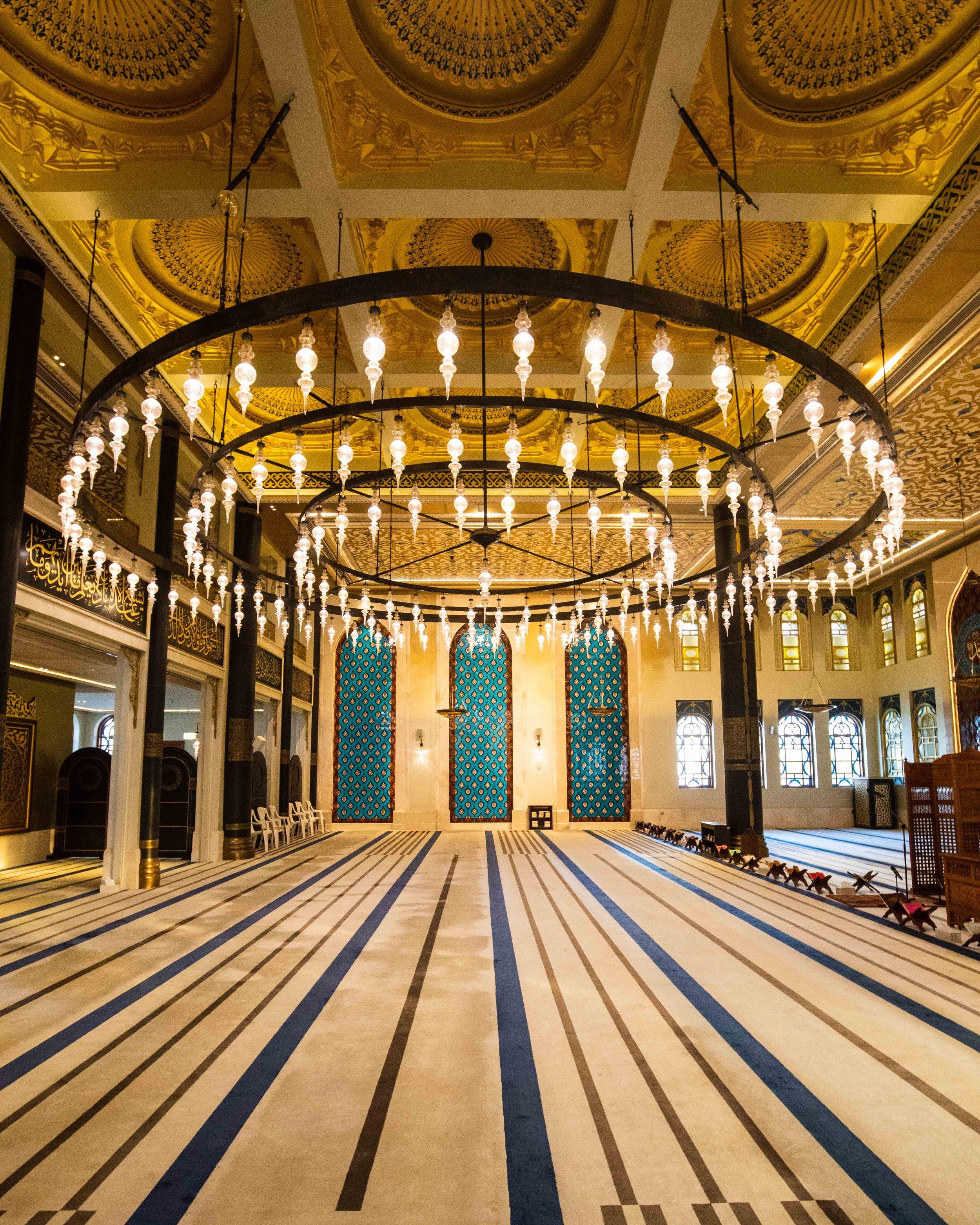 Katari Mosque interior