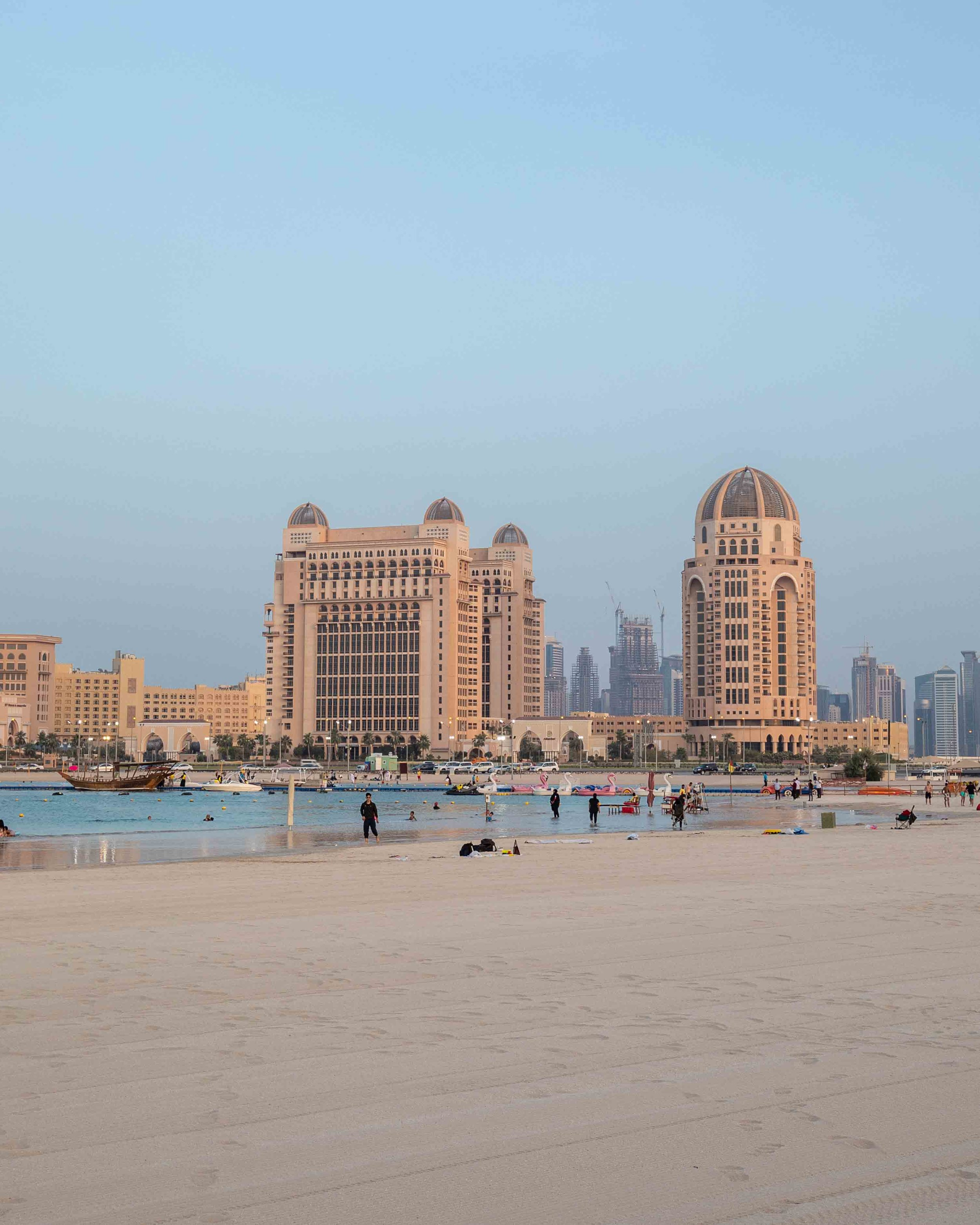 Katara Beach - 2 day Doha Stopover