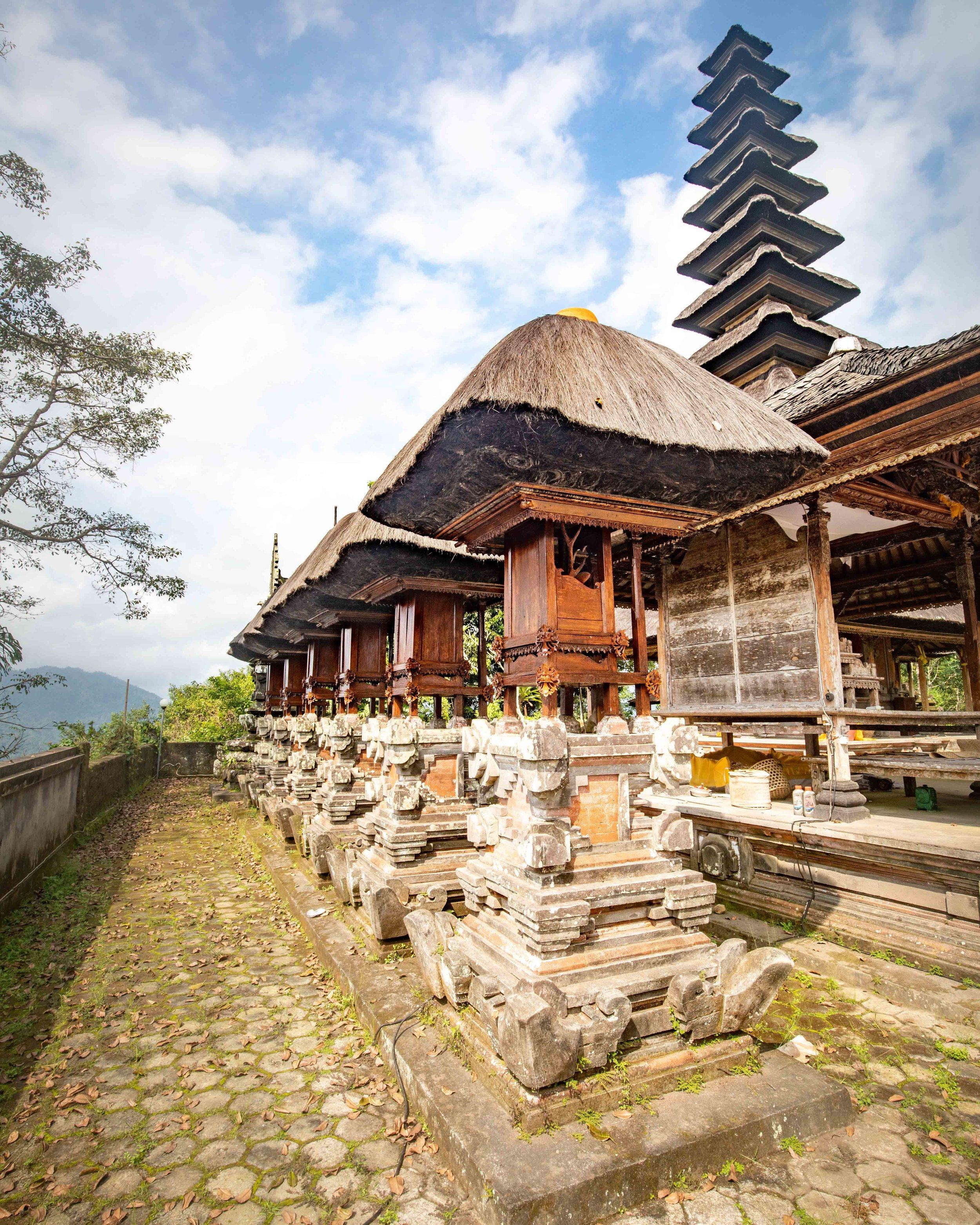 Bukit temple in Sidemen Bali