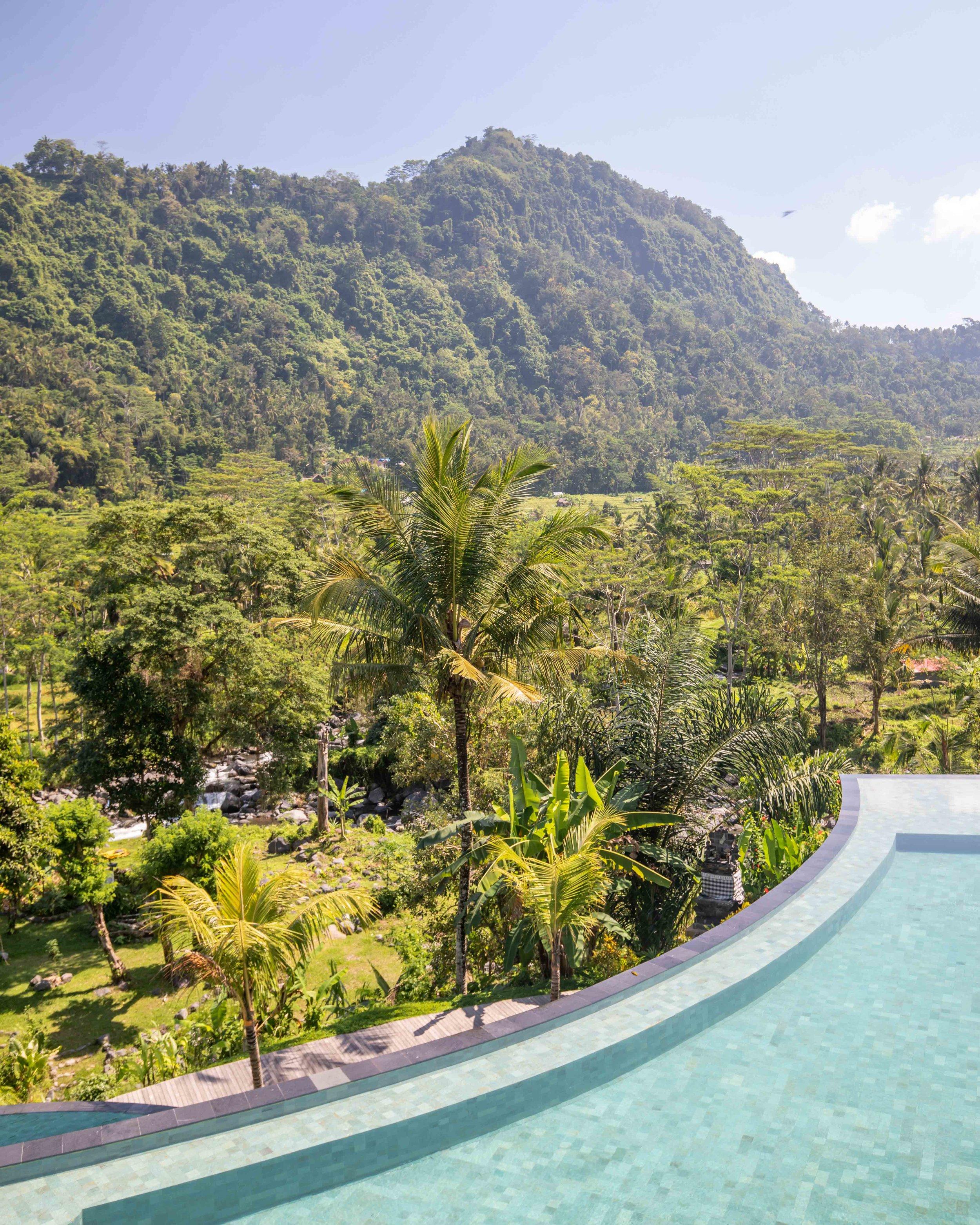 Luxury in Sidemen Bali
