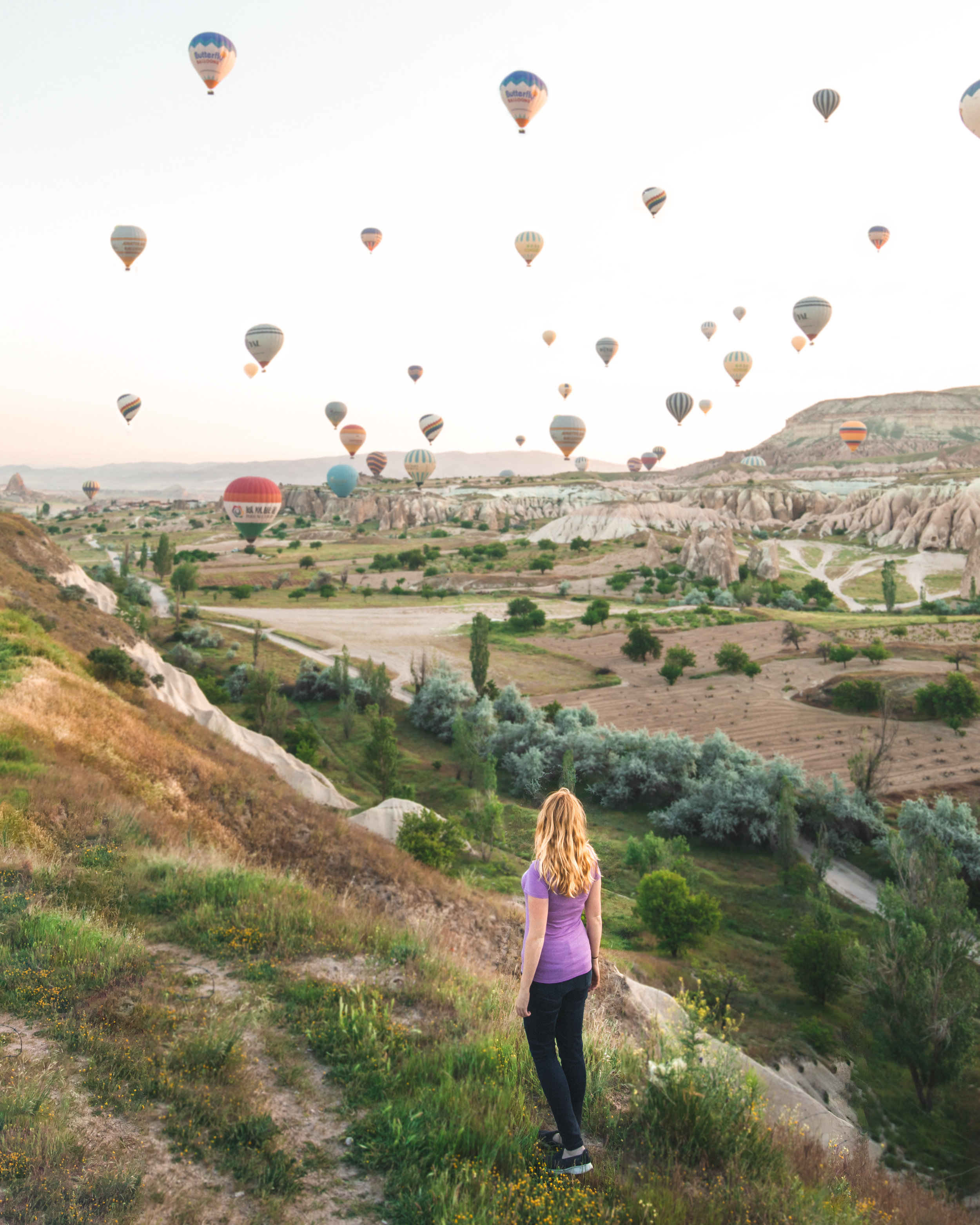 Rose Valley Landing Site - Photogenic places to visit in Cappadocia