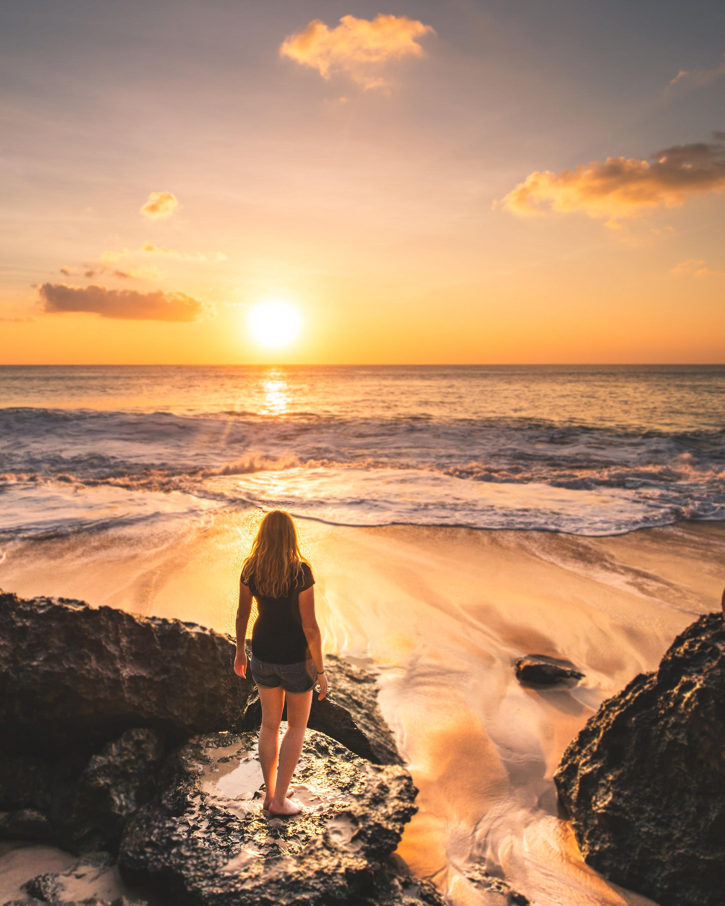 Tegal Beach - Instagram-worthy places in Bali