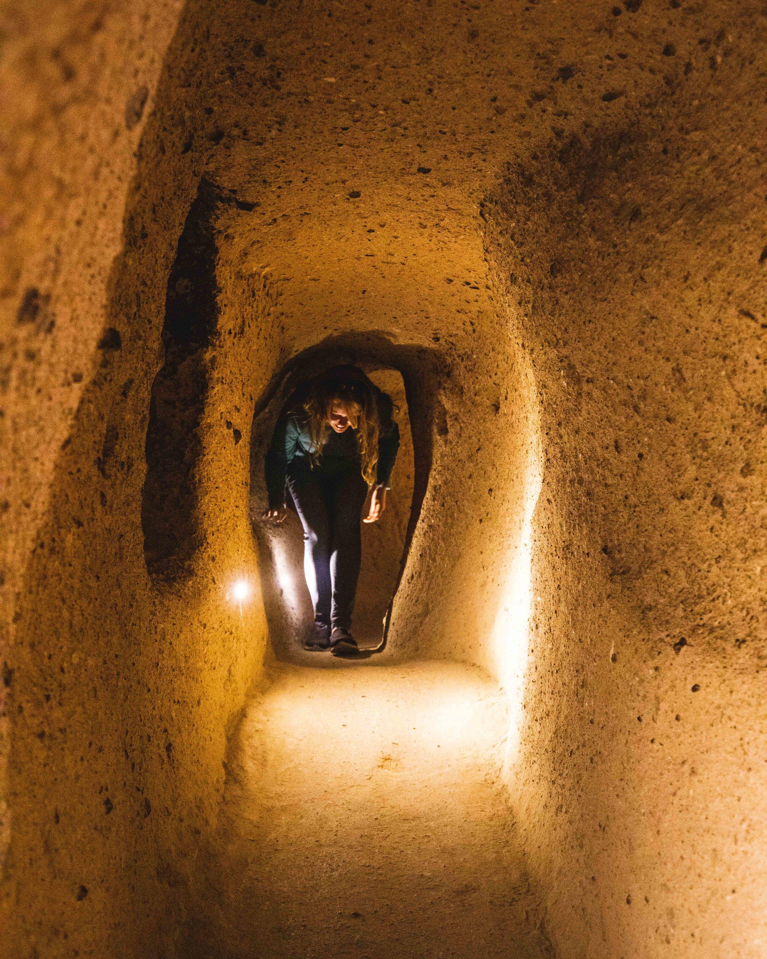 Kaymakli Underground city - Cappadocia