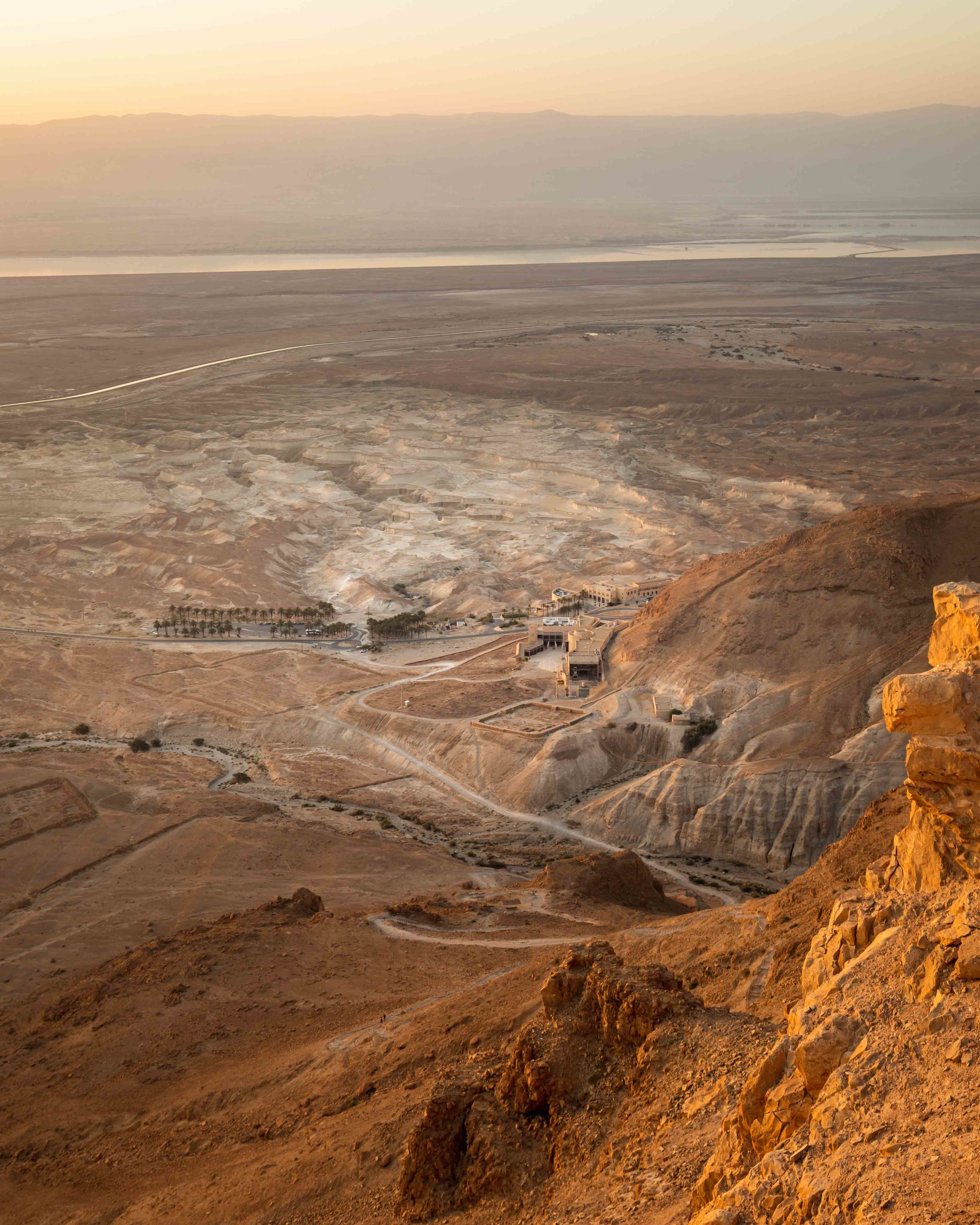 The Snake Path at Masada - Sunrise hike