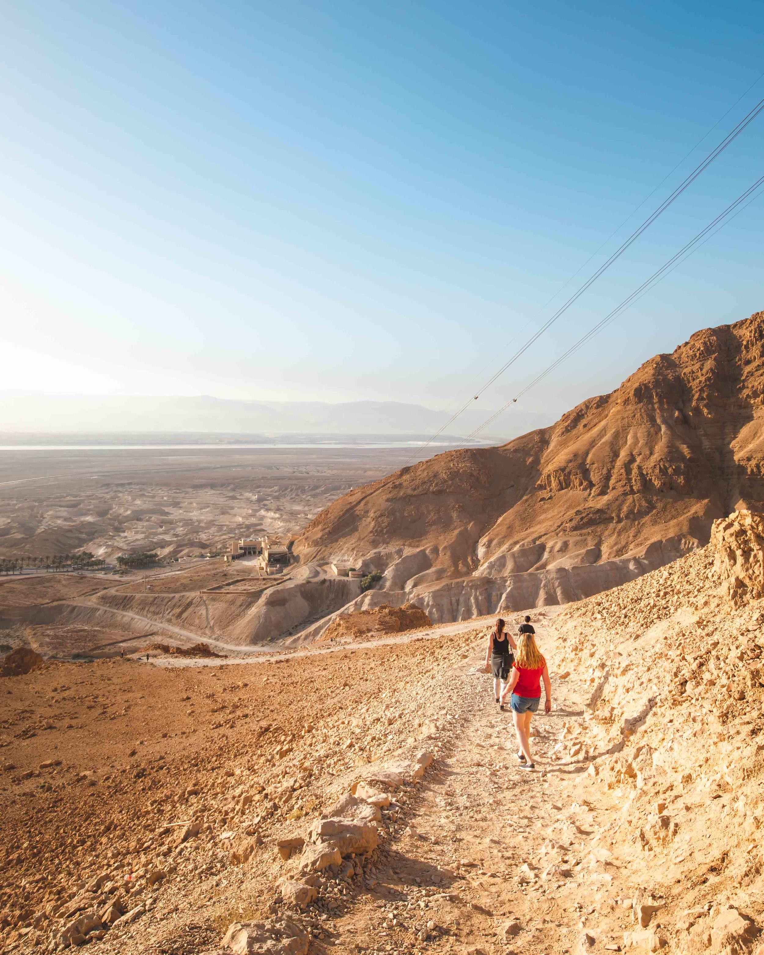 Masada Snake Path Entrance Fee