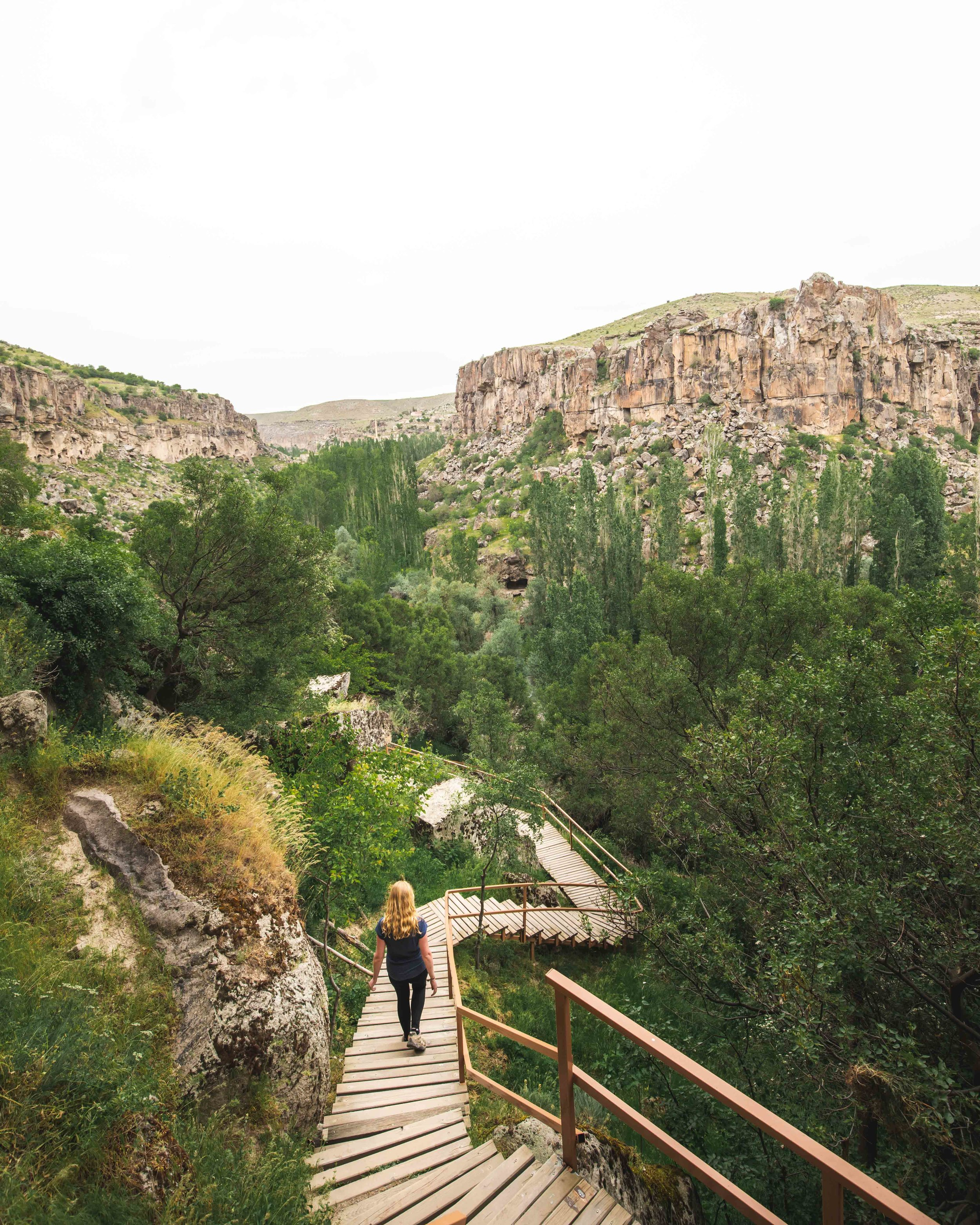 Hiking in the Ilhara Valley, Cappadocia
