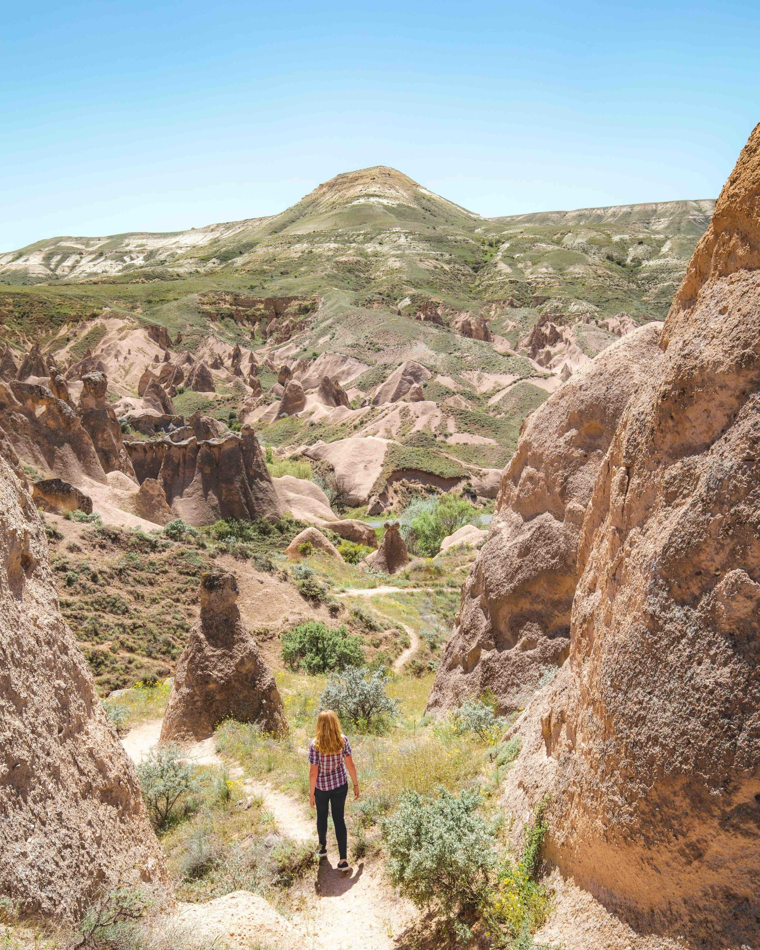 Hiking in Devrent Valley - Cappadocia