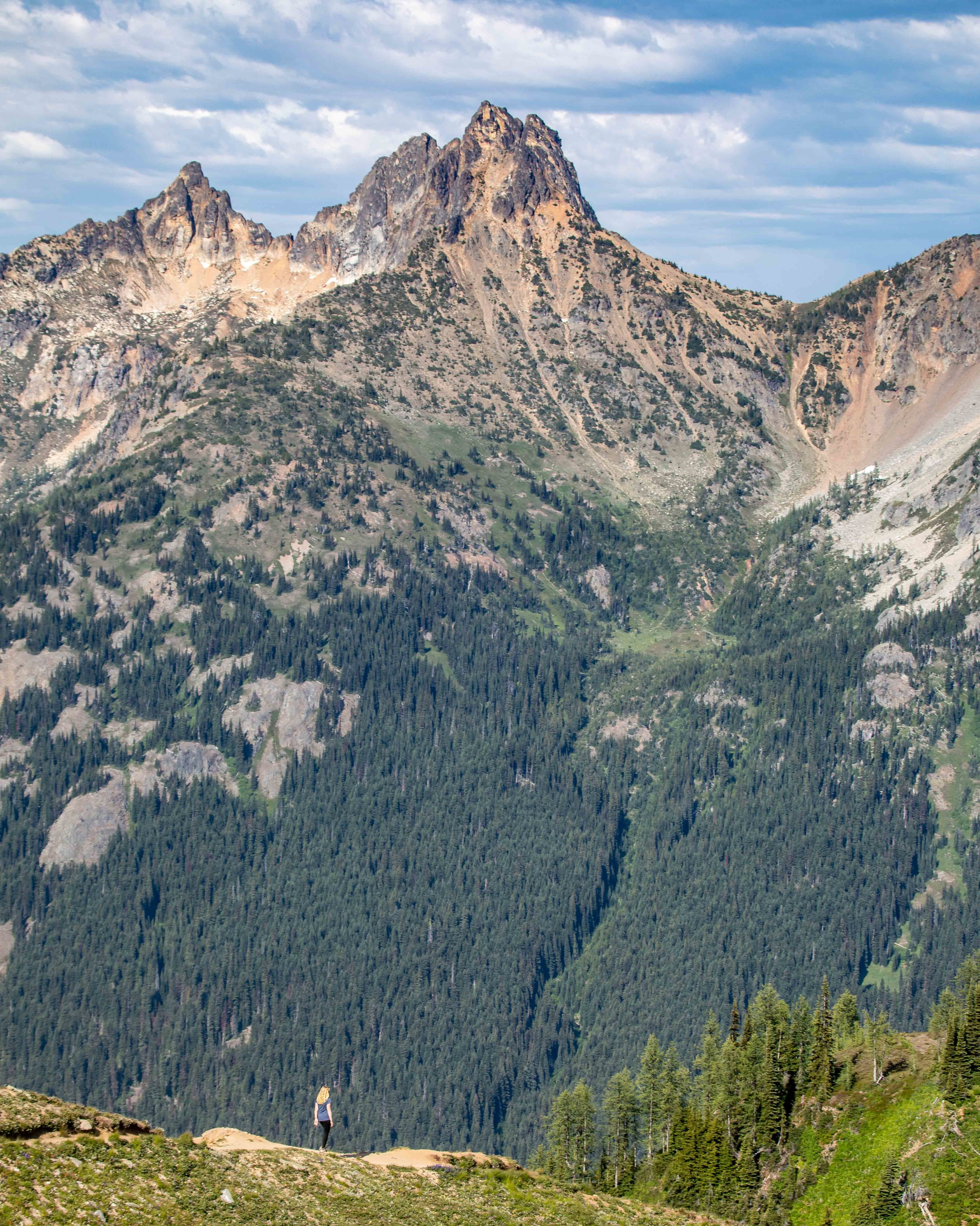 Epic views of North Cascades