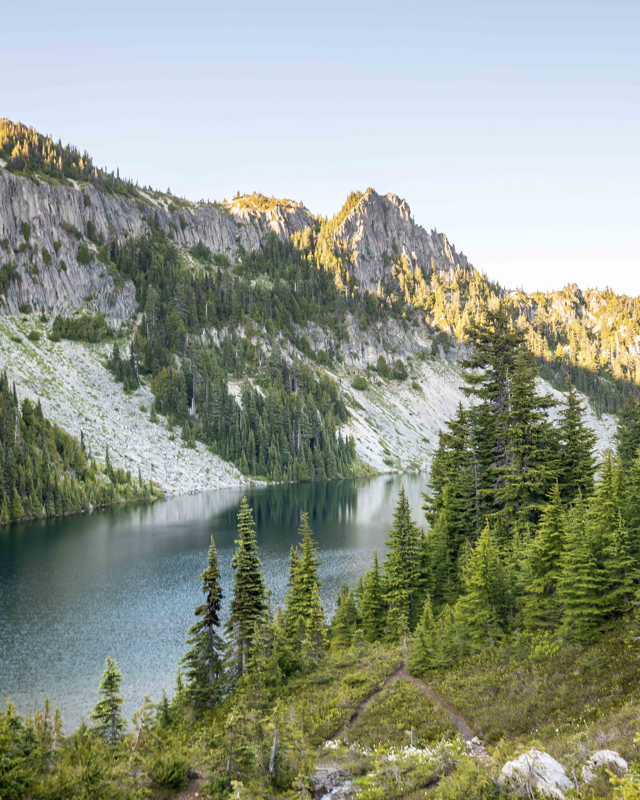 Eunice Lake - Tolmie Peak, Mount Rainier