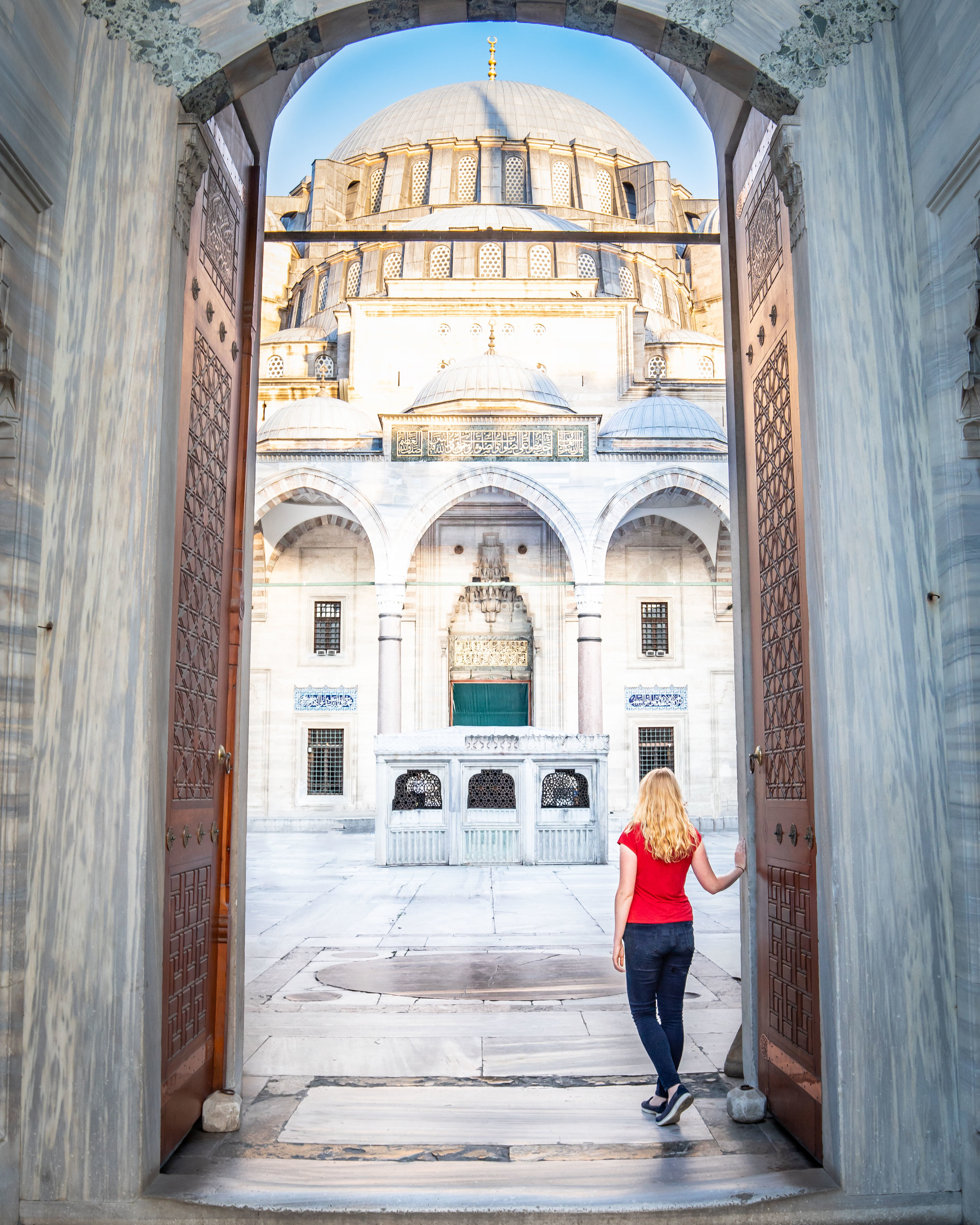 Suleymaniye Mosque Istanbul - Instagrammable Places in Turkey