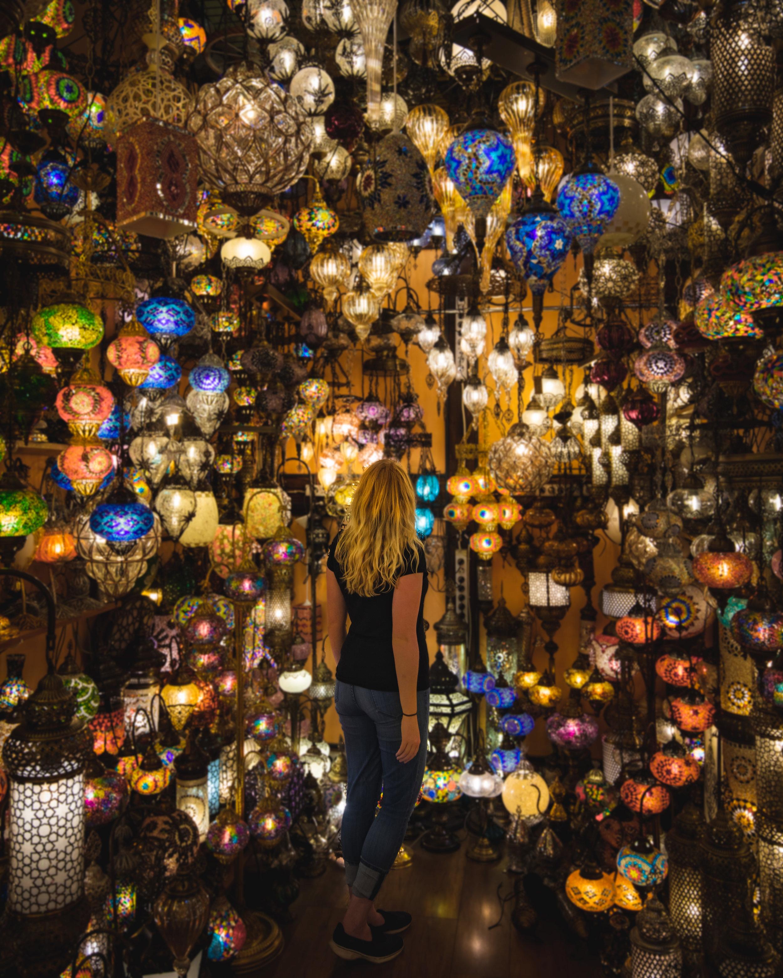 Instagrammable Spots in Turkey - The Grand Bazaar in Istanbul