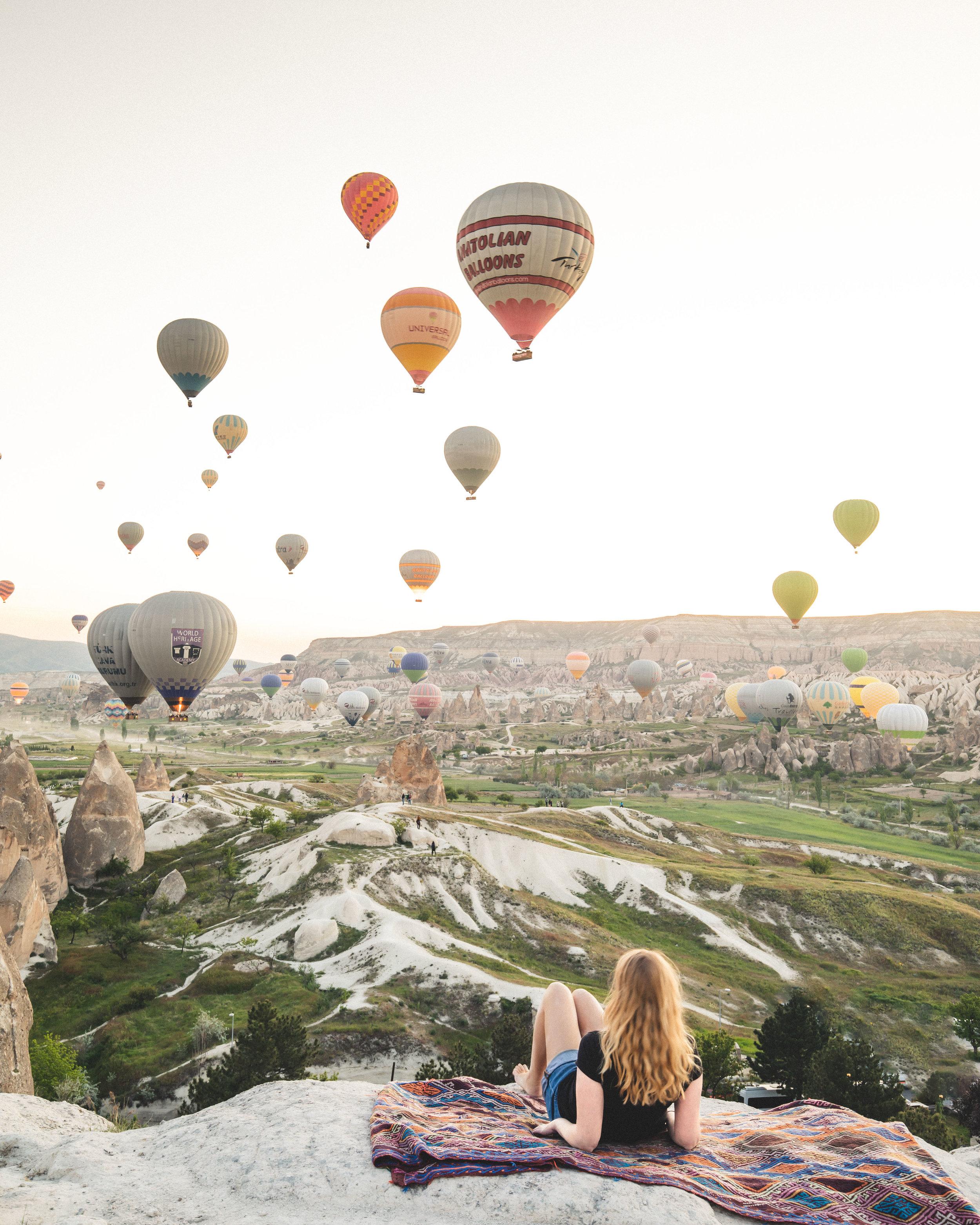 Best photo spots in Turkey - Sunset Hill in Goreme