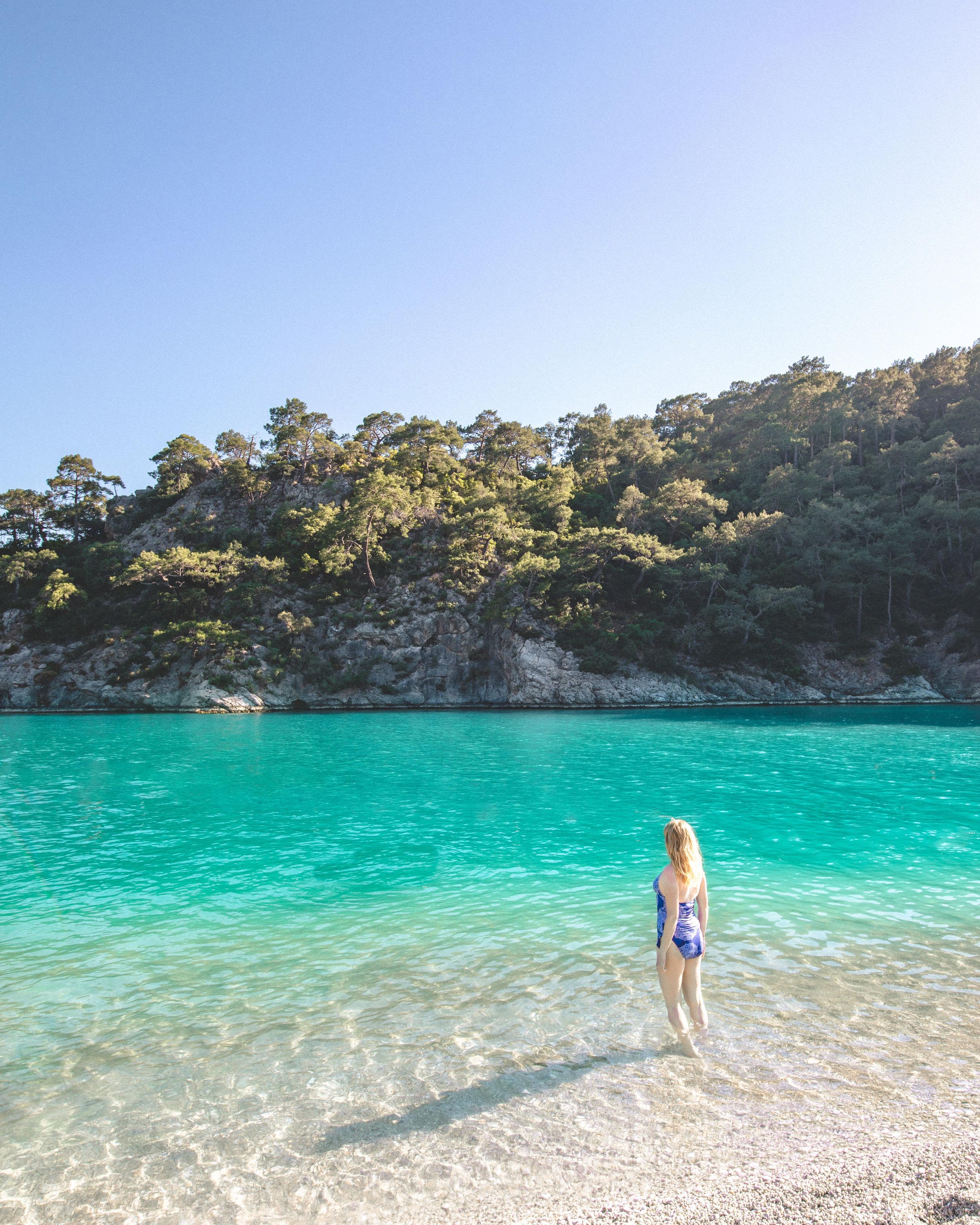Blue Lagoon in Olu Deniz - Instagram worthy places in Turkey