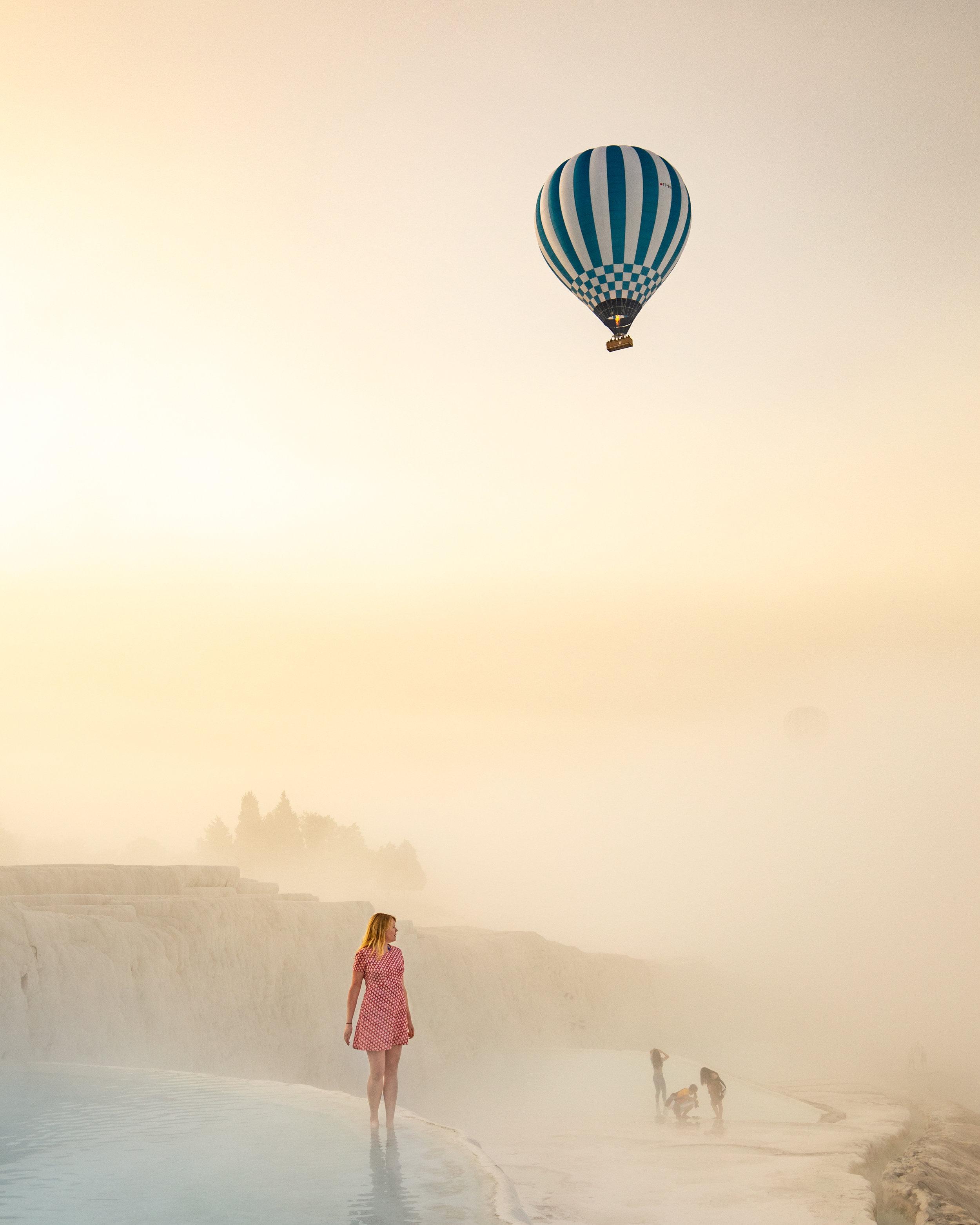 Stunning photo spots in Turkey - Pamukkale