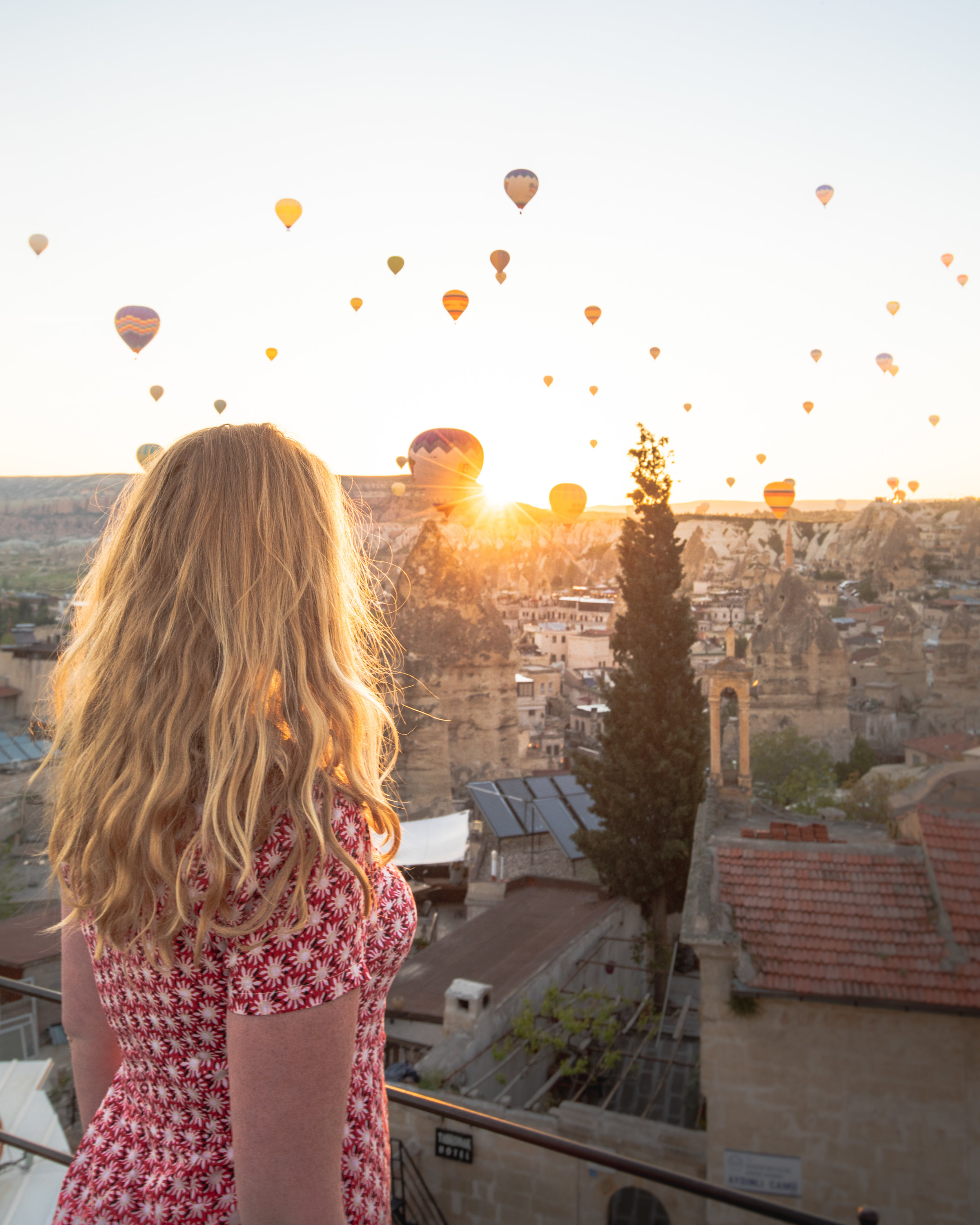 Instagrammable places in Turkey - Cave hotels in Cappadocia