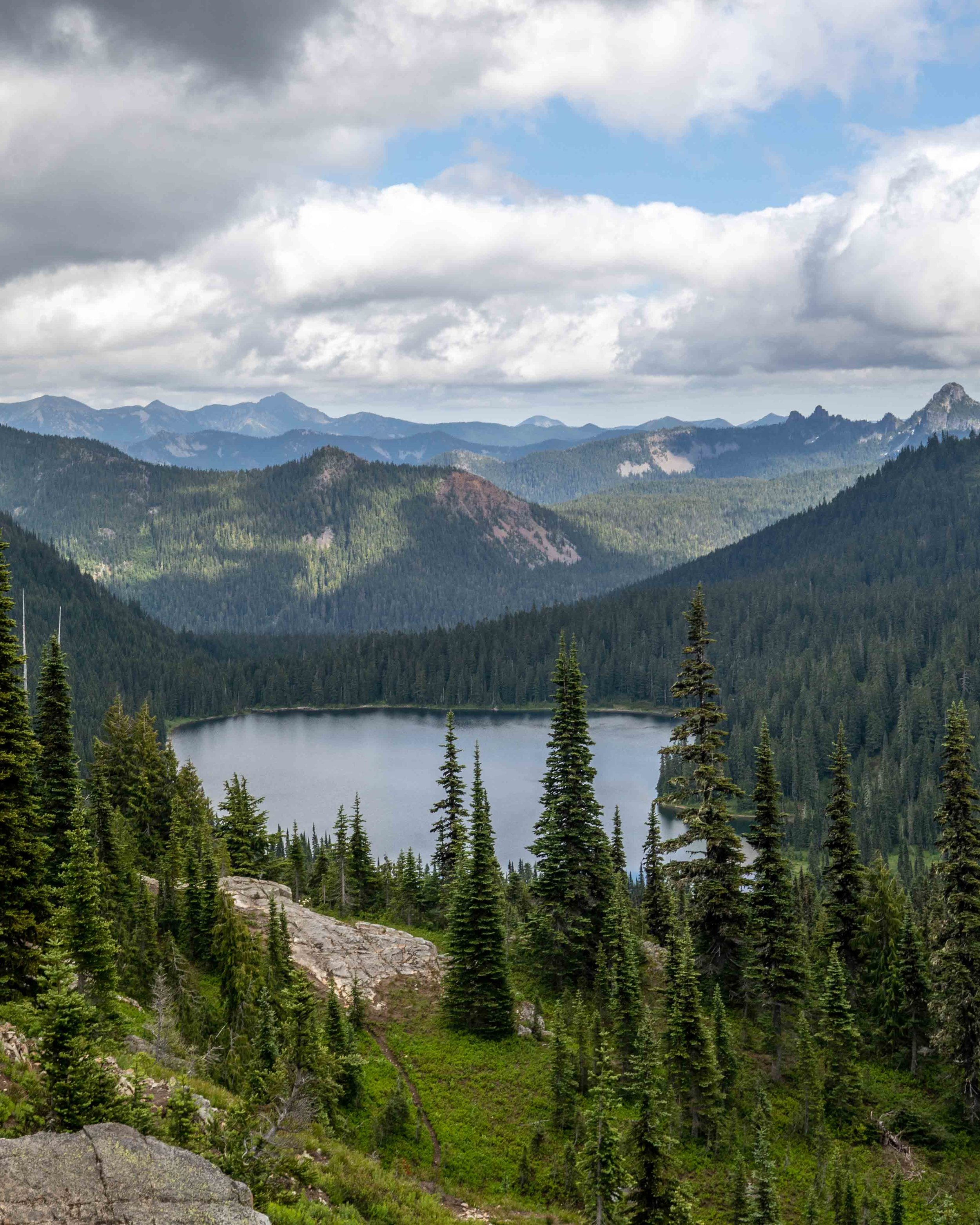 Hikes in Mount Rainier - Naches Peak Loop