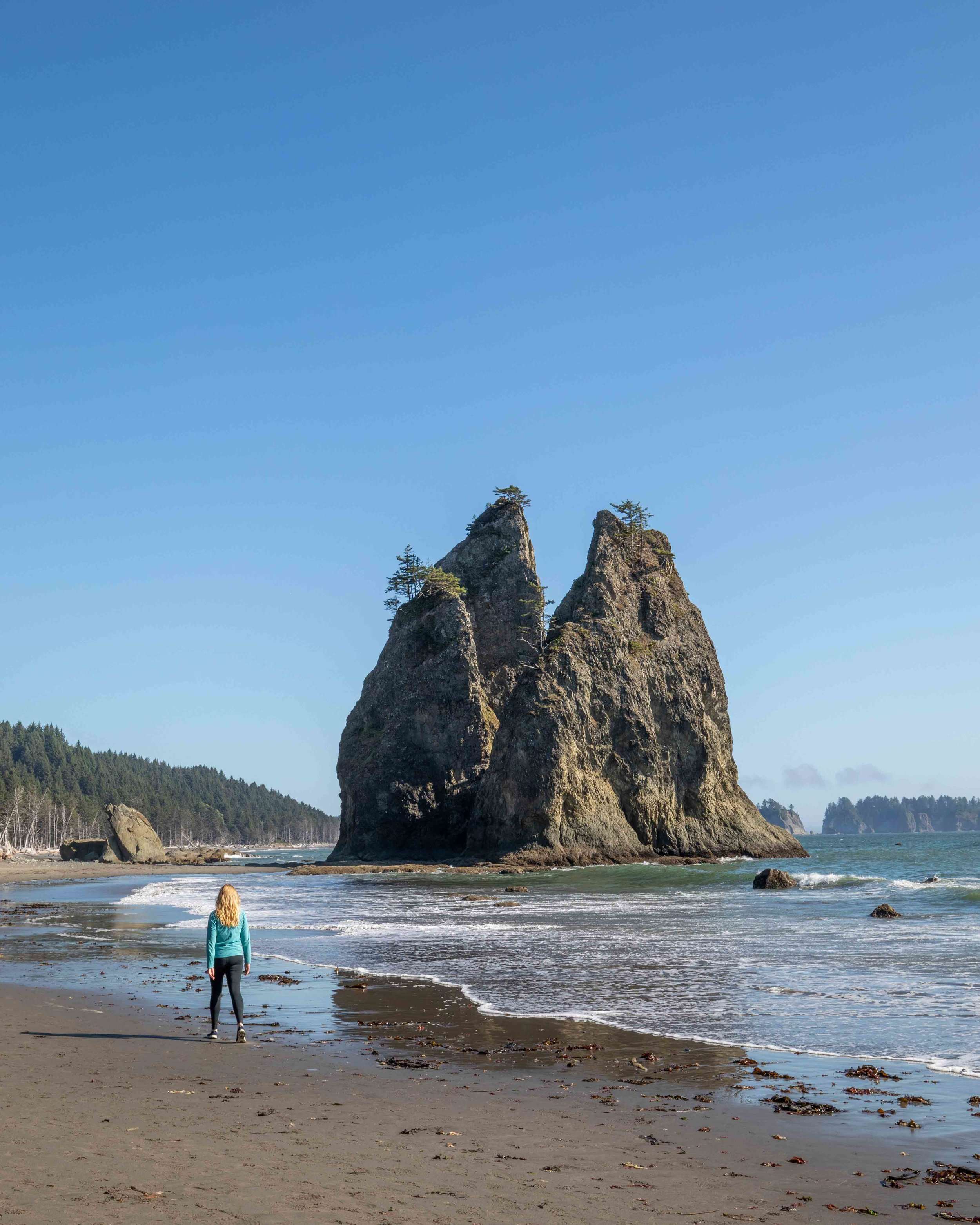 The Rialto beach to hole in the wall hike
