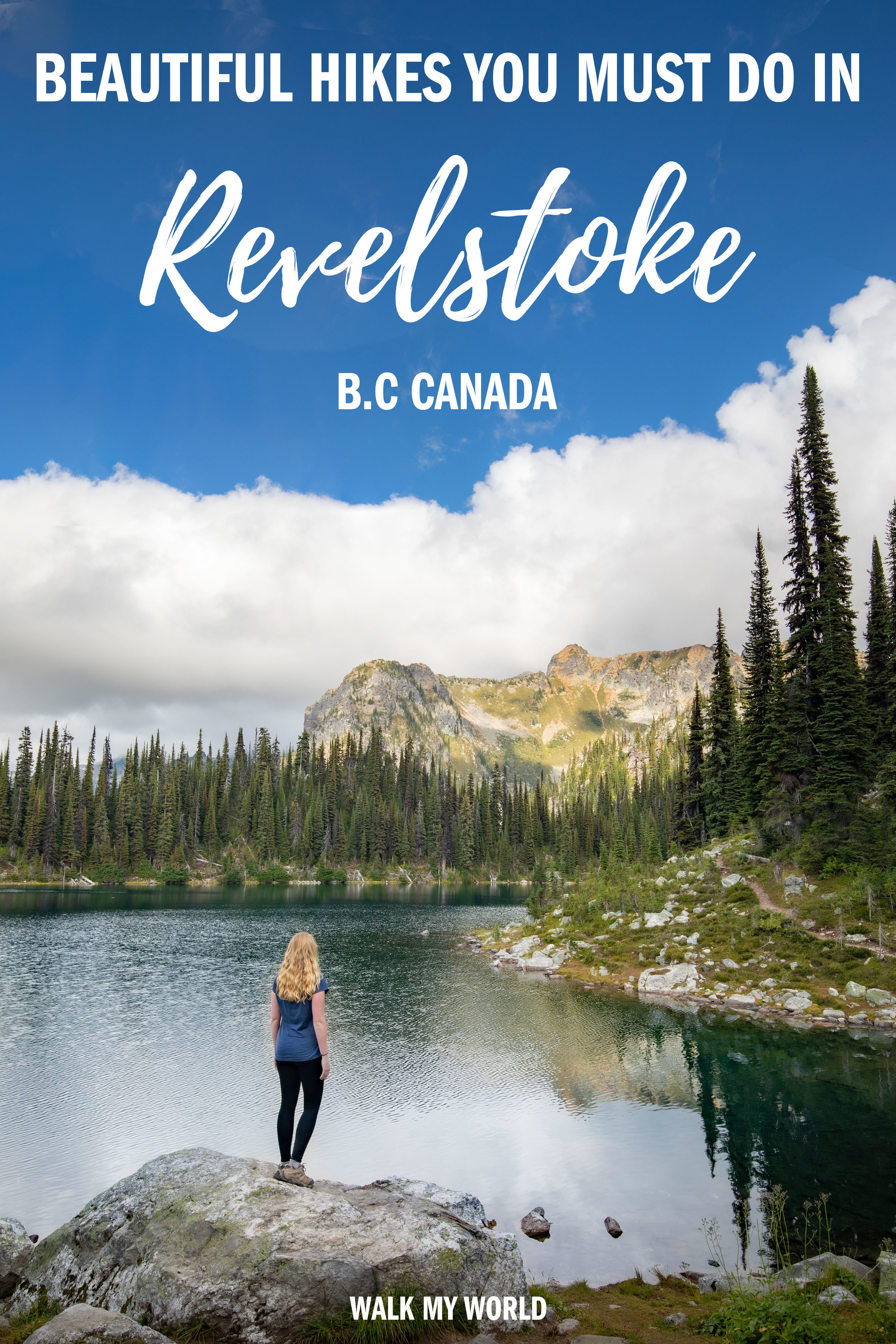 10 Revelstoke hikes for all levels! We'll take you through the best hikes to do around the whole area, what to expect and how to plan your trip to Revelstoke. #Canada #Revelstoke #RevelstokeHikes #BritishColumbia