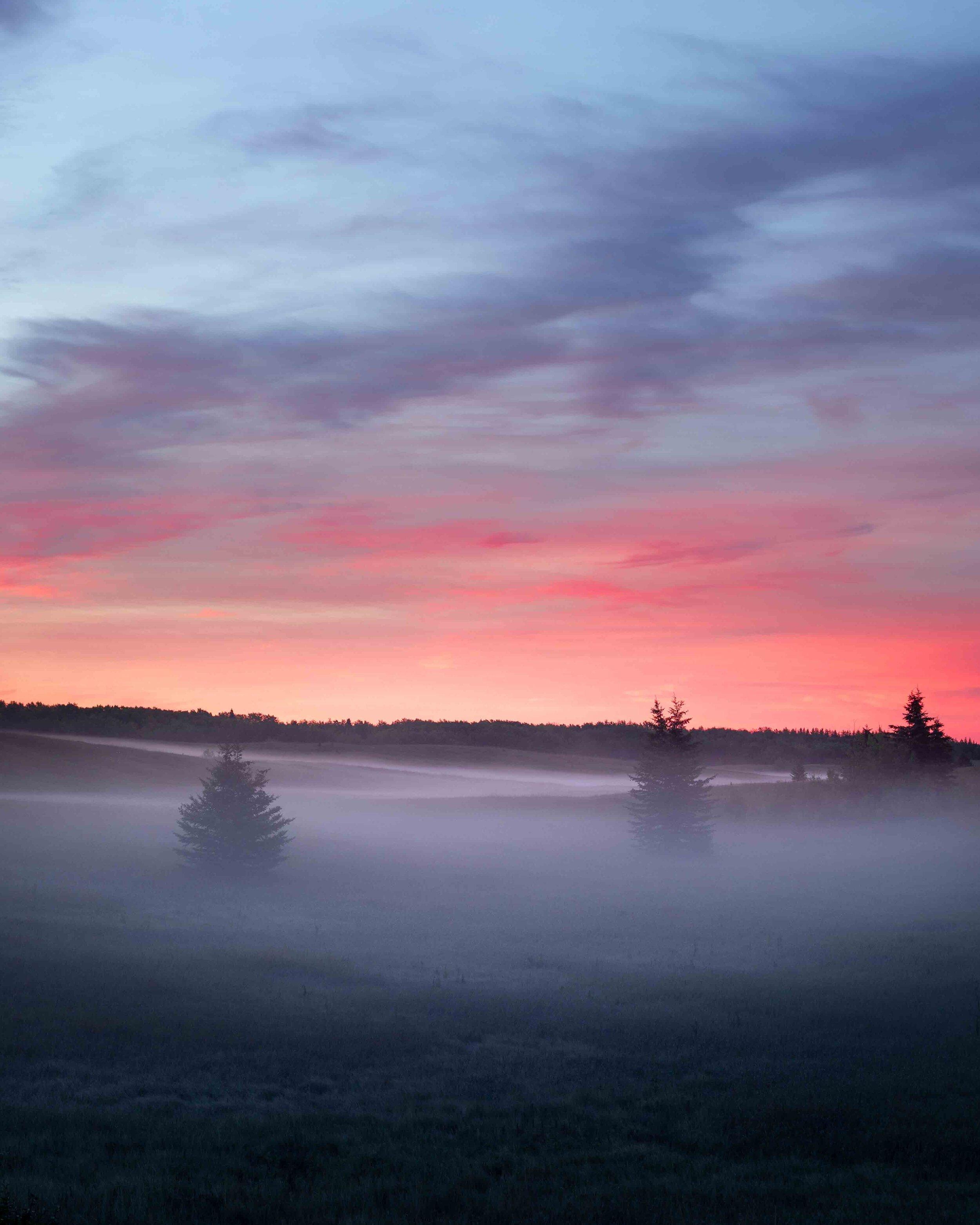 Sunrise at Lake Audy