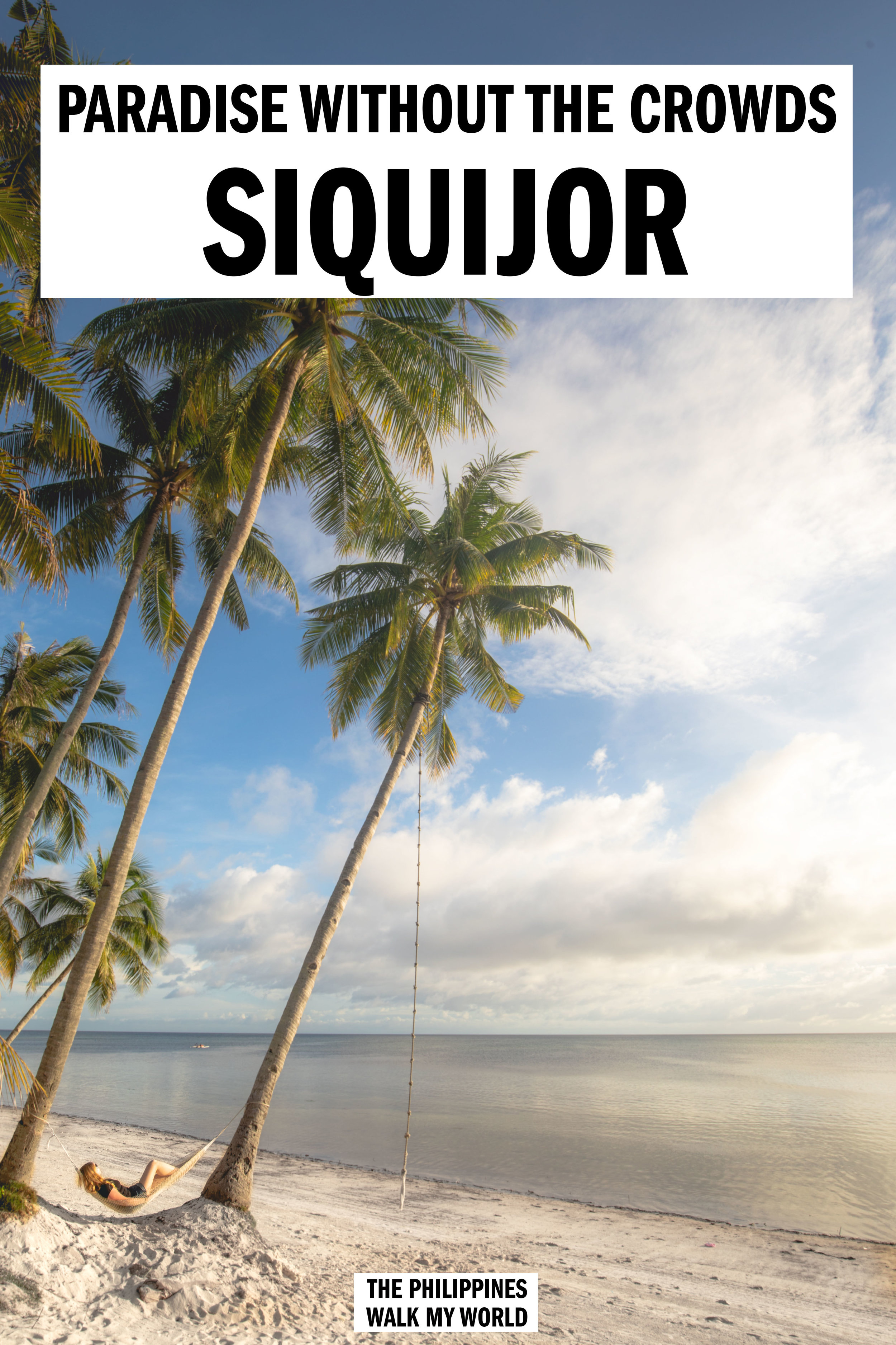 We love Siquijor! An island that has all could you want in South-East Asia: beautiful beaches, stunning waterfalls, friendly people and great value food & accommodation. Here's how to plan your trip to this hidden gem. #ThePhilippines #Siquijor #Asia