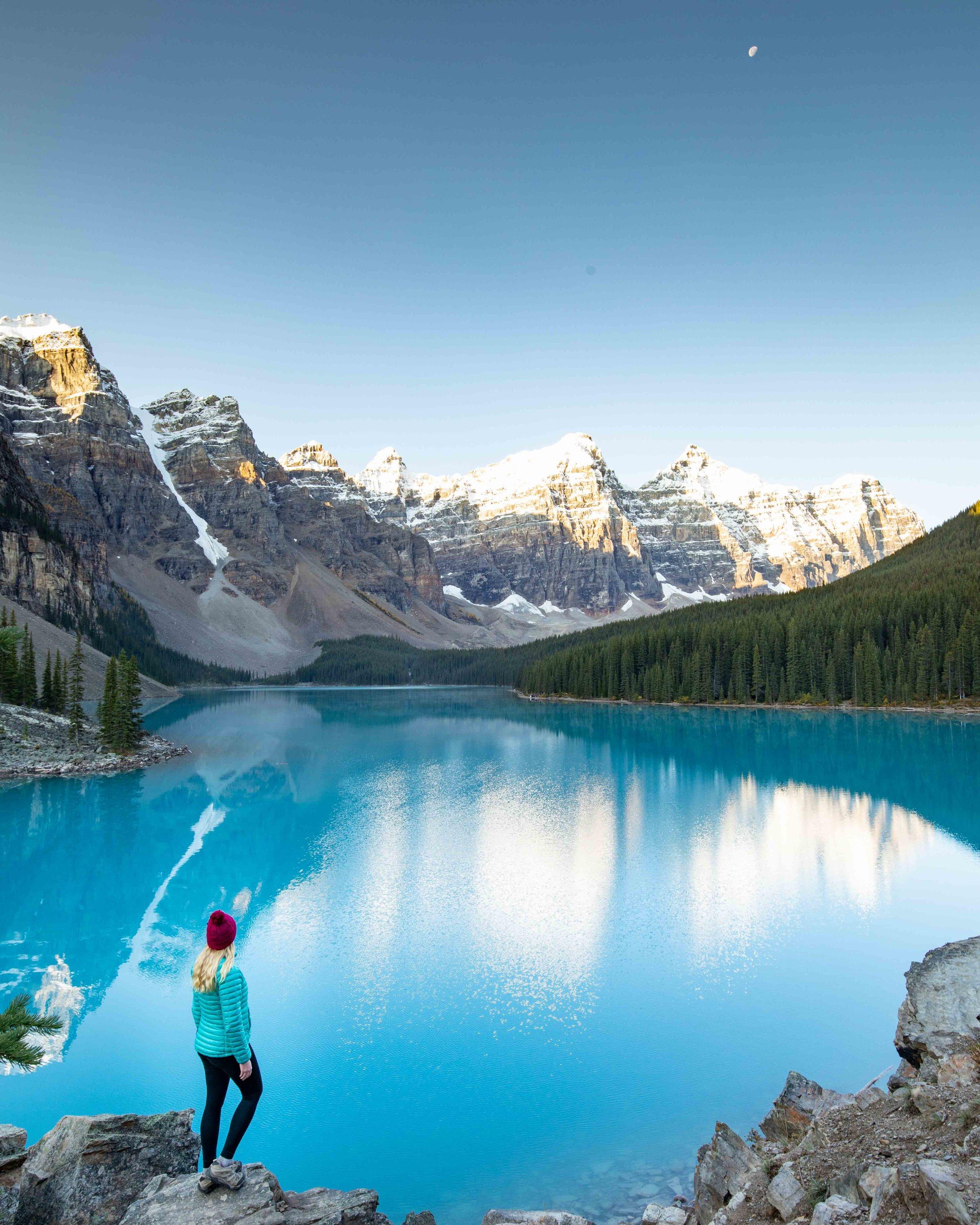 Morraine Lake Sunrise - things to do in Lake Louise