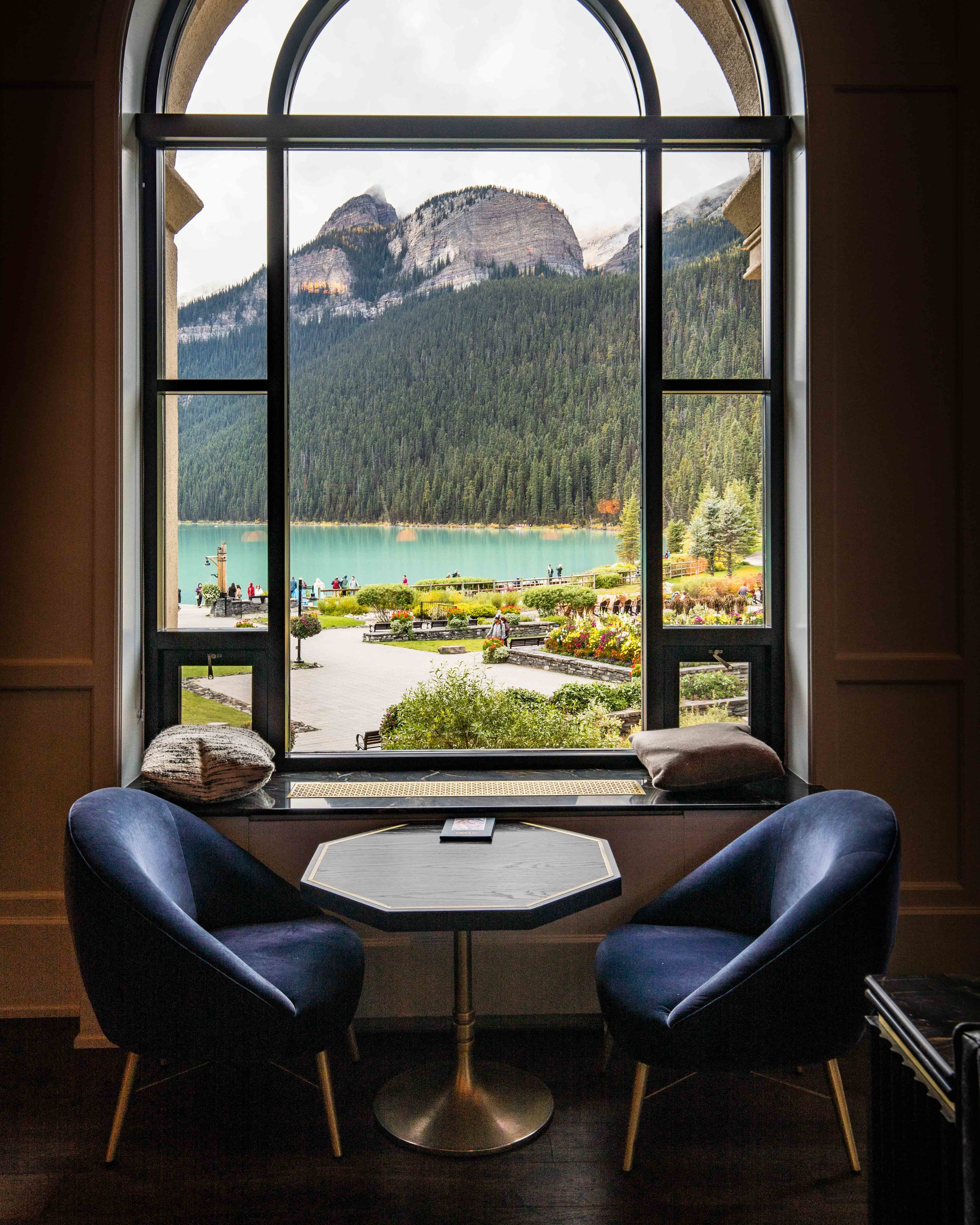 Lunch at the Fairmont - Things to do in Lake Louise