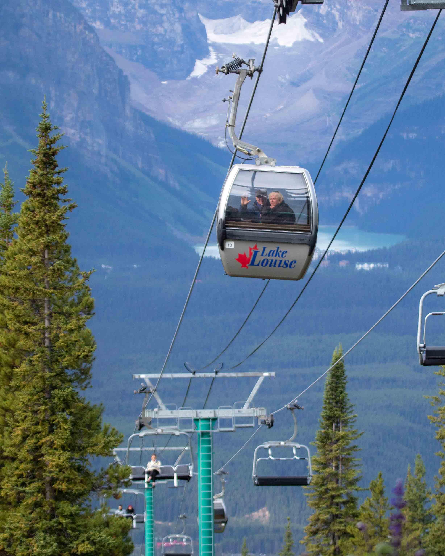 The Lake Louise Gondola