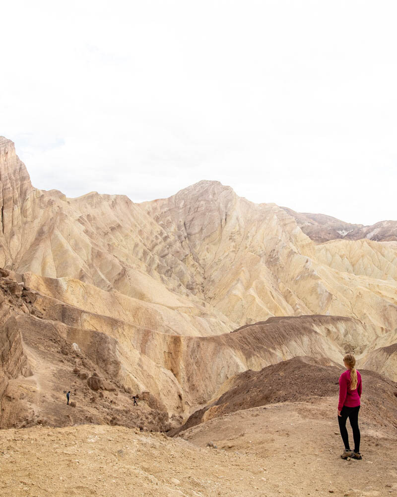 Death Valley hikes: The view from the Red Cathedral