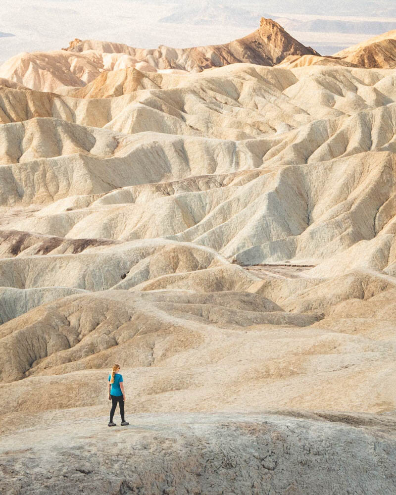 Death Valley hikes: The ridges of the Badlands Loop